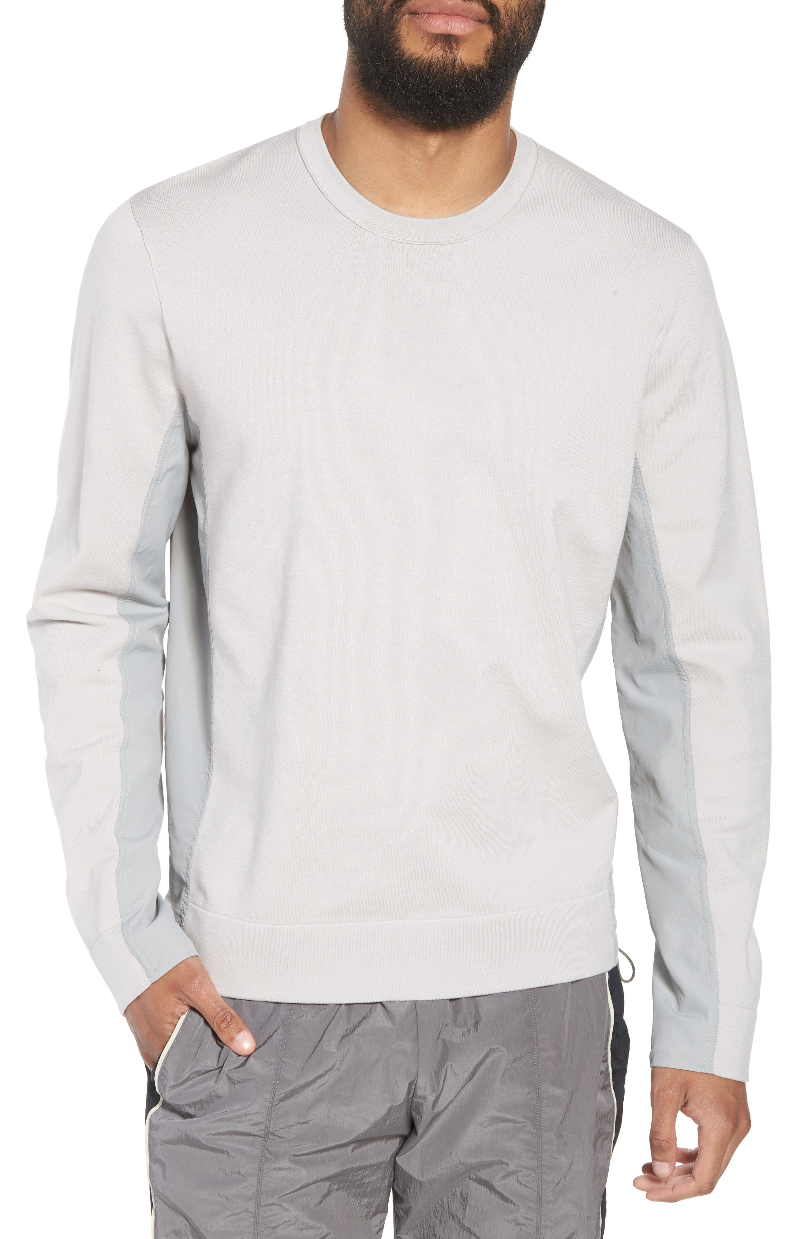 Crewneck Sweatshirt,                             Main thumbnail 1, color,                             Cloud