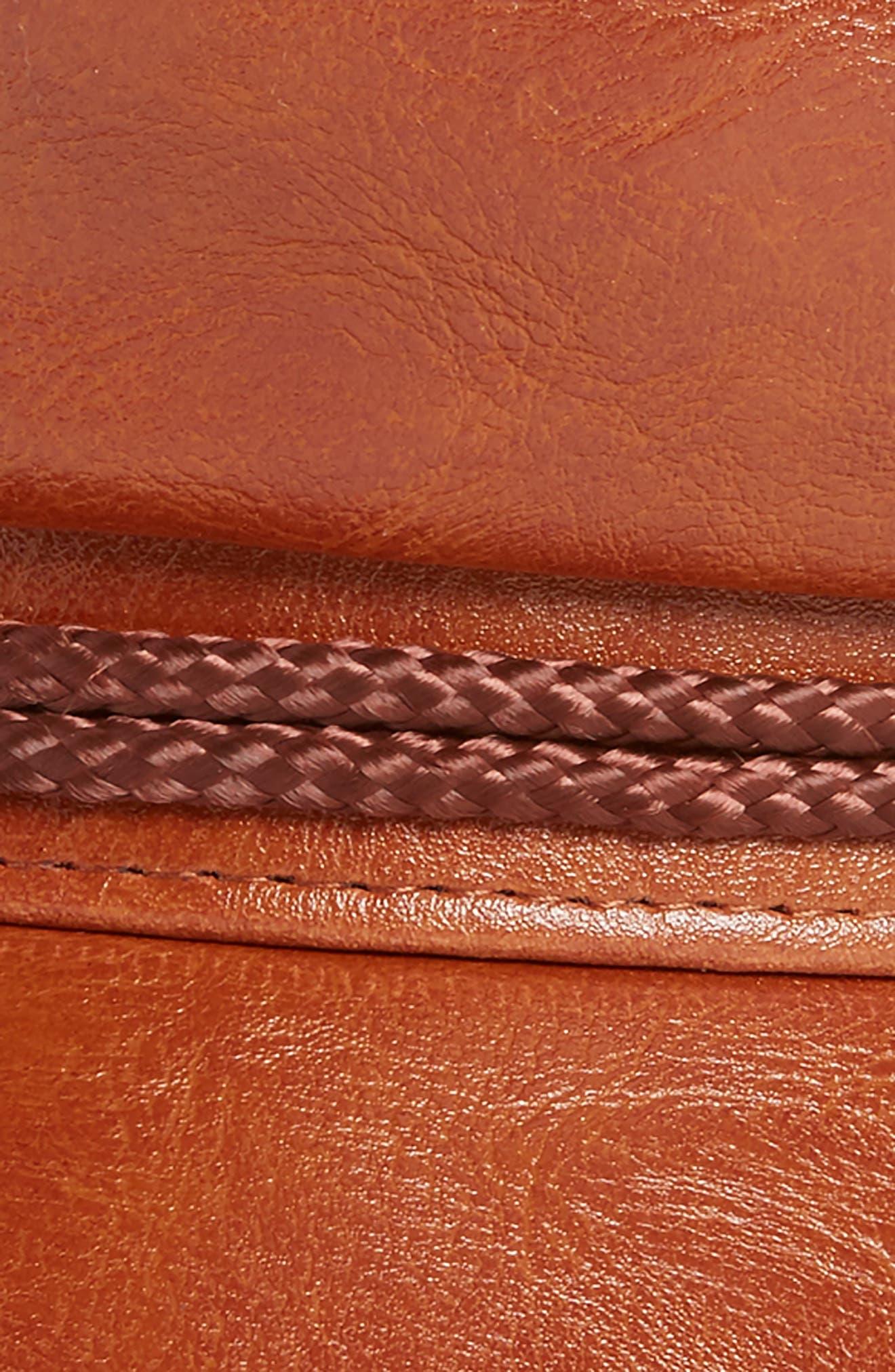 Fiddler Cap,                             Alternate thumbnail 2, color,                             Tan Vegan Leather
