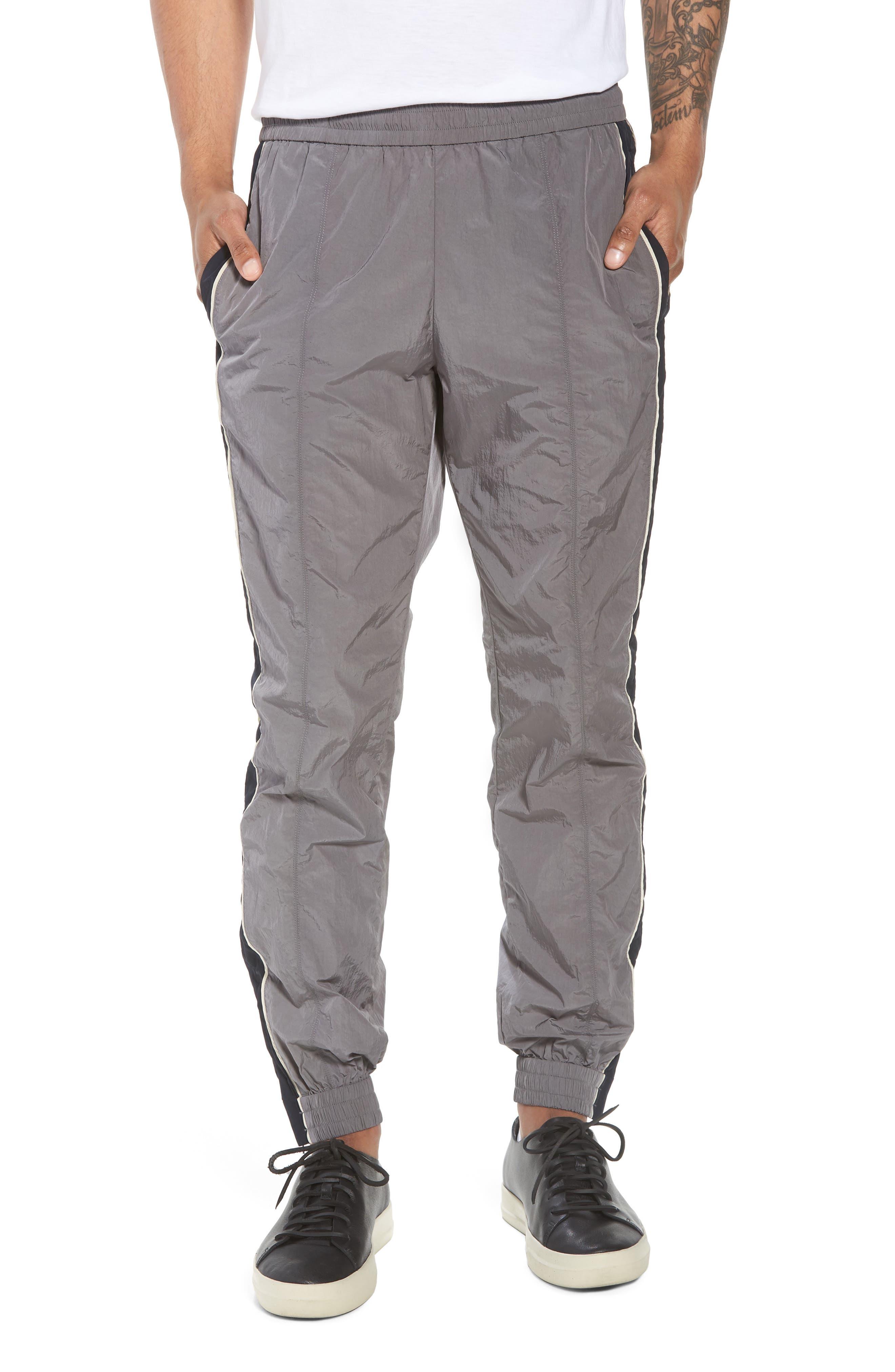 Track Pants,                         Main,                         color, Granite