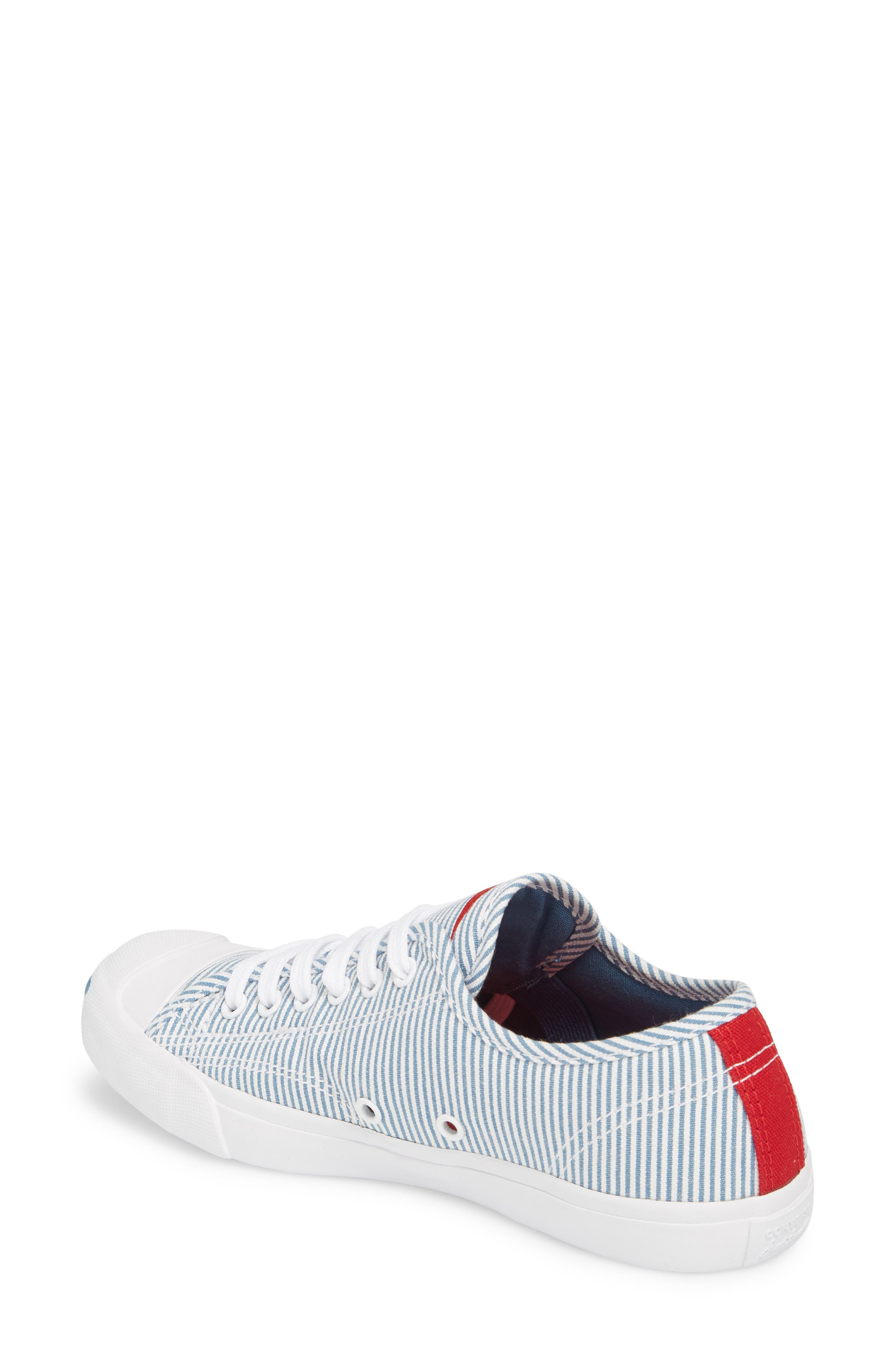 Jack Purcell Low Top Sneaker,                             Alternate thumbnail 3, color,                             Aegean Storm