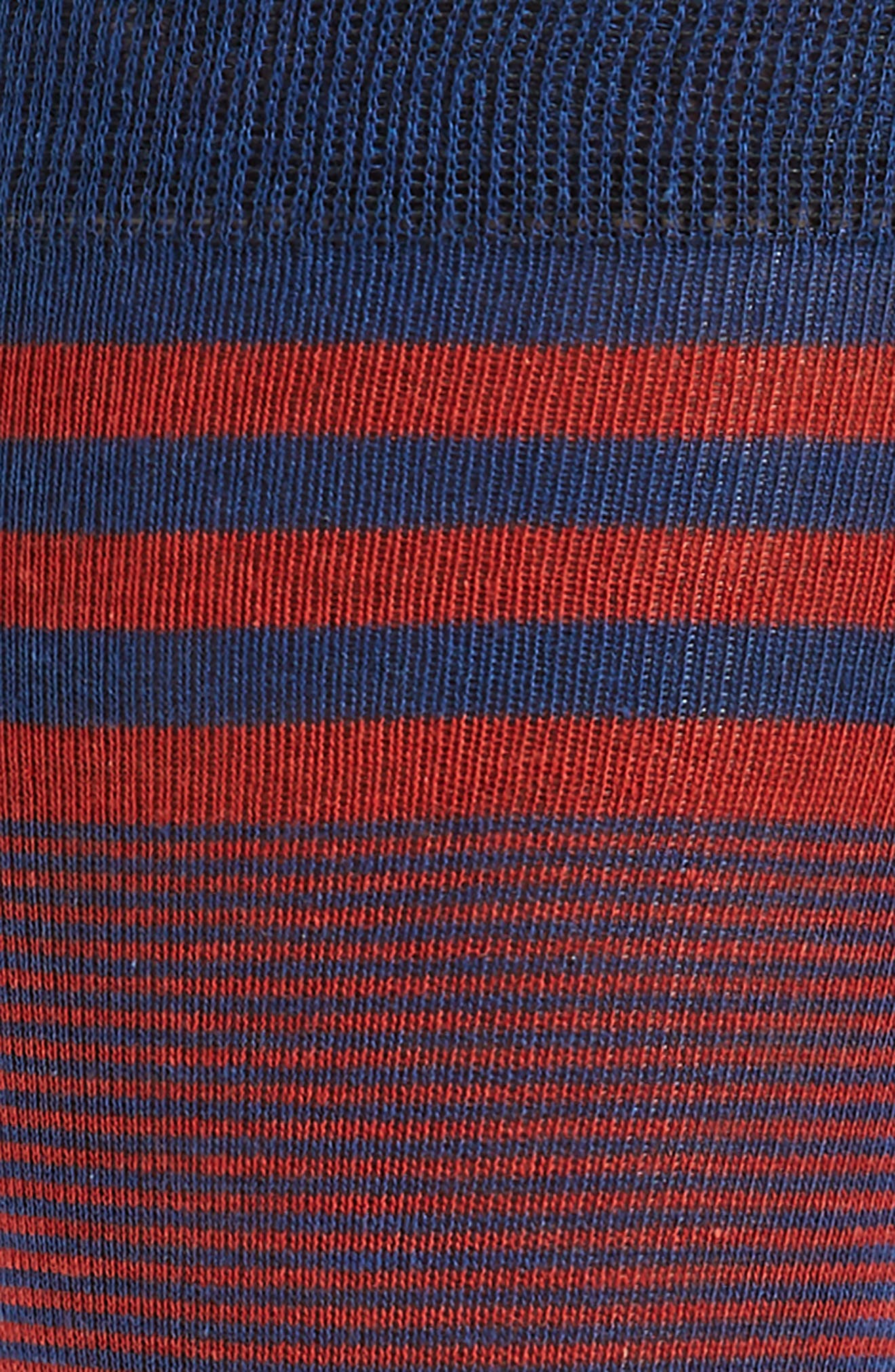 Stripe Socks,                             Alternate thumbnail 2, color,                             Marine Blue