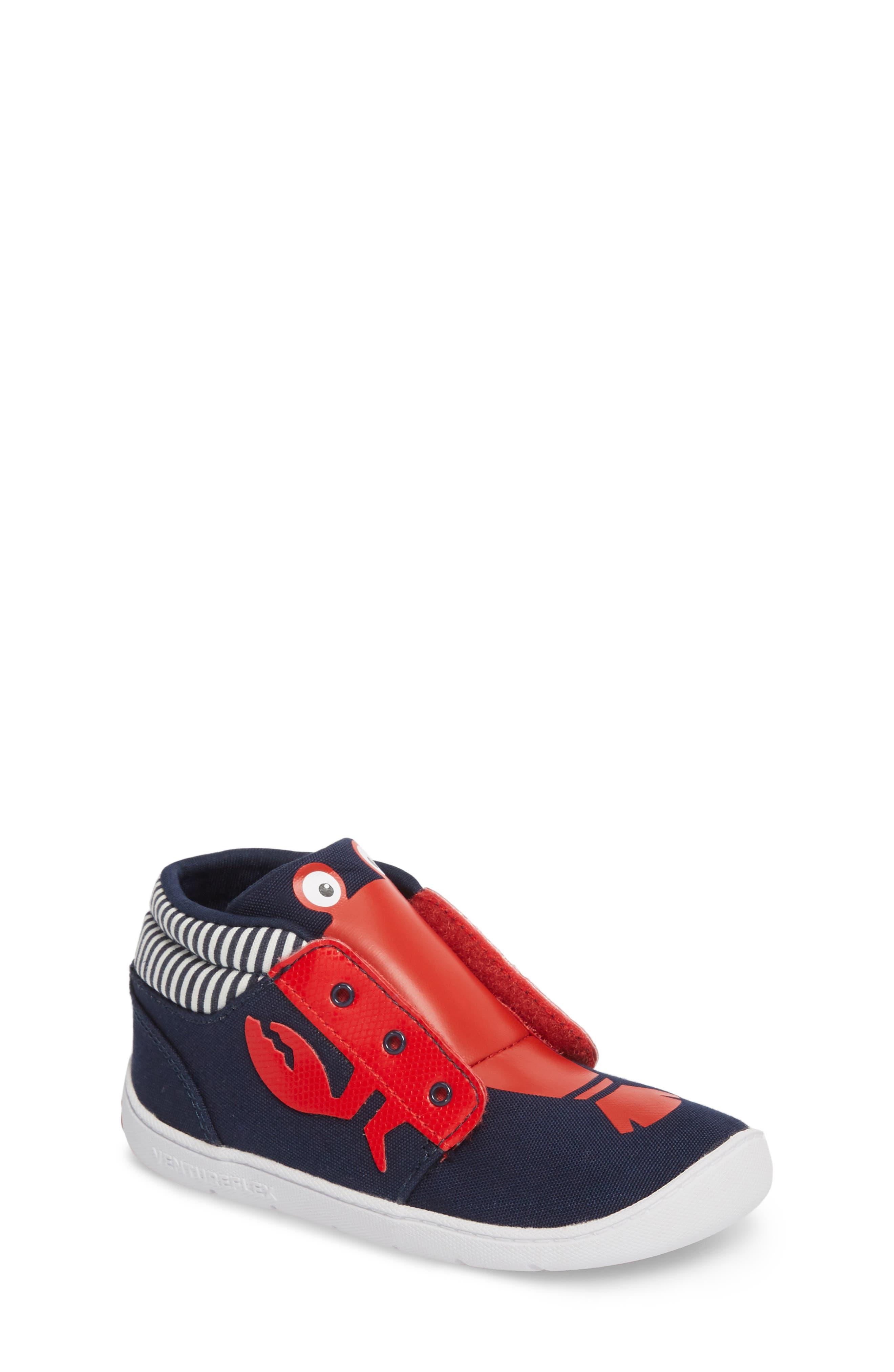 Ventureflex High Top Critter Sneaker,                         Main,                         color, Blue