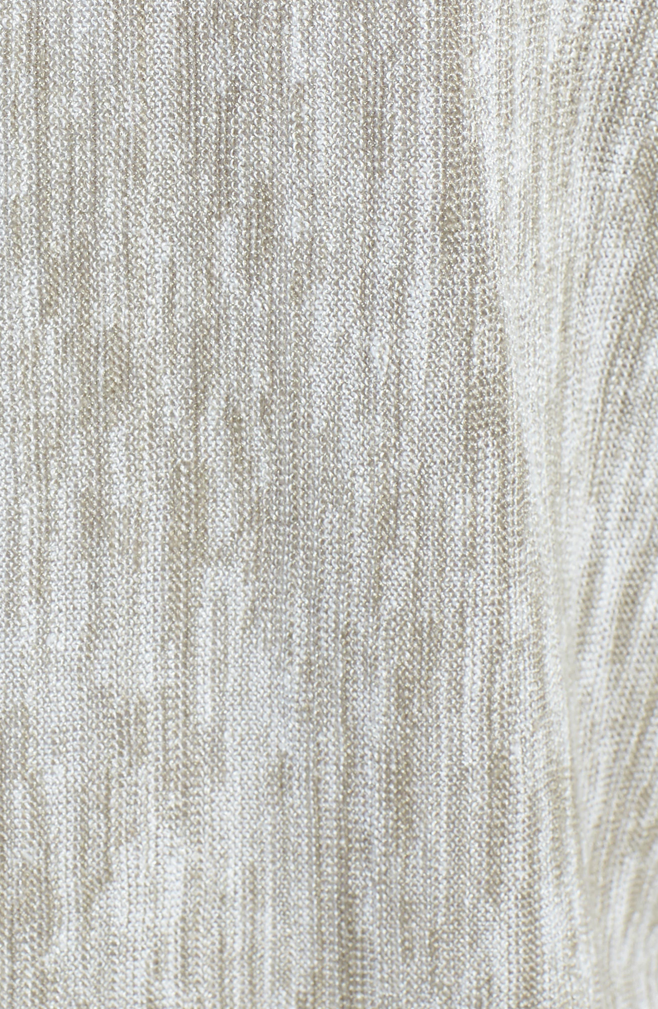 Desert Wind Knit Top,                             Alternate thumbnail 5, color,                             Flax Mix