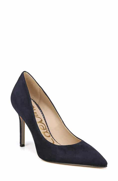 Womens blue wedding shoes nordstrom baltic navy suede junglespirit Image collections