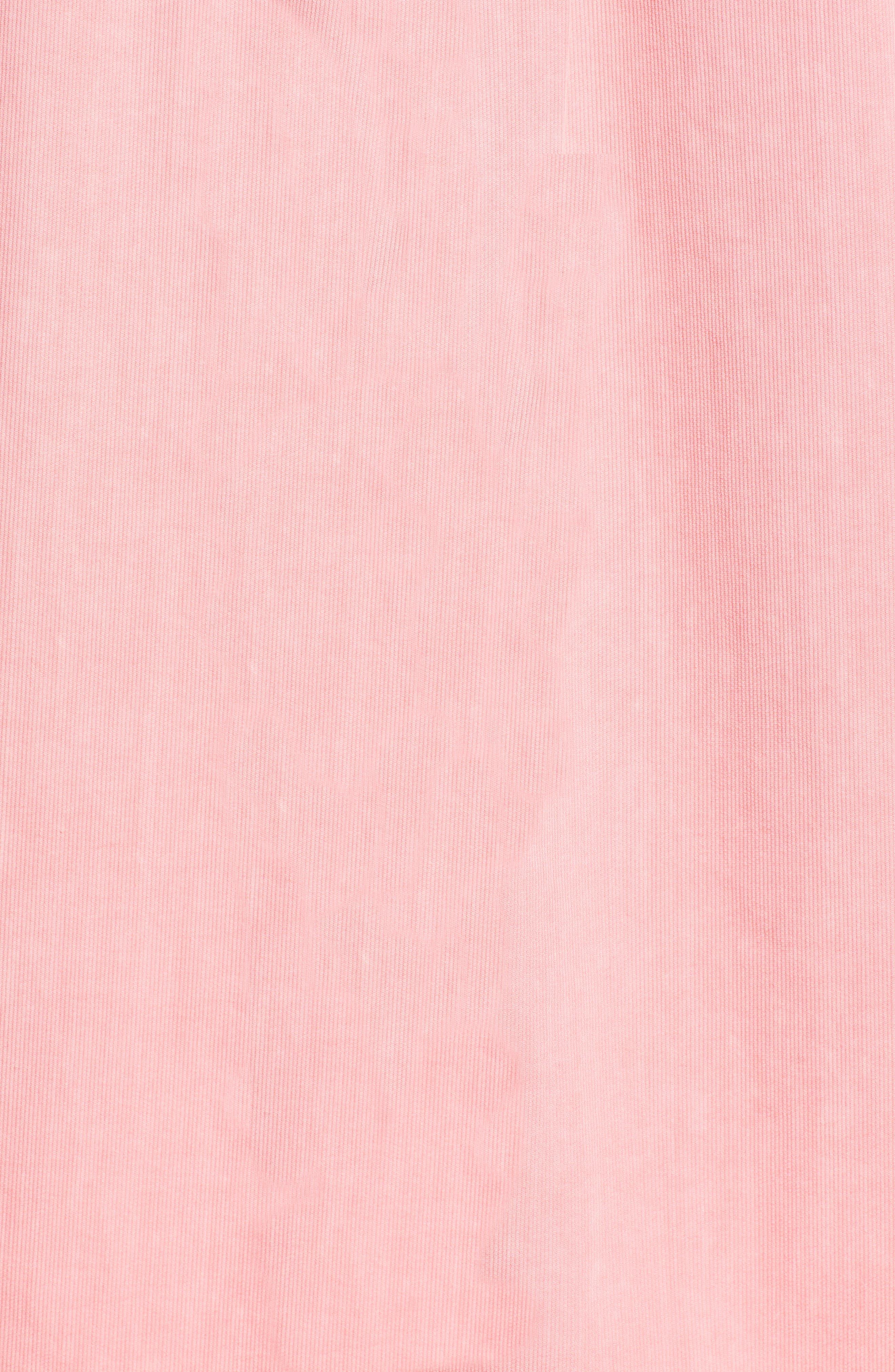 Tucker Slim Fit Solid Cotton & Silk Sport Shirt,                             Alternate thumbnail 5, color,                             Strawberry Blonde