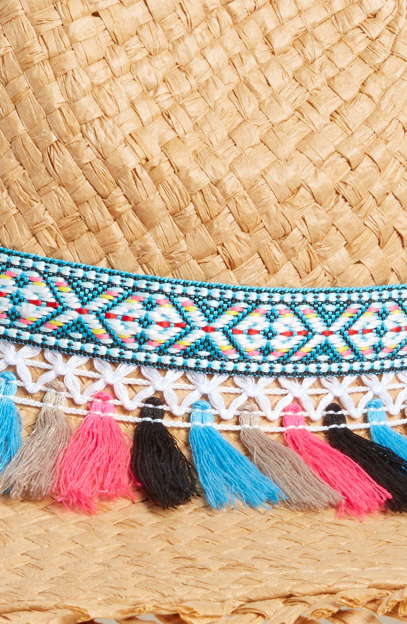 Festival Flair Panama Hat,                             Alternate thumbnail 2, color,                             Pastel