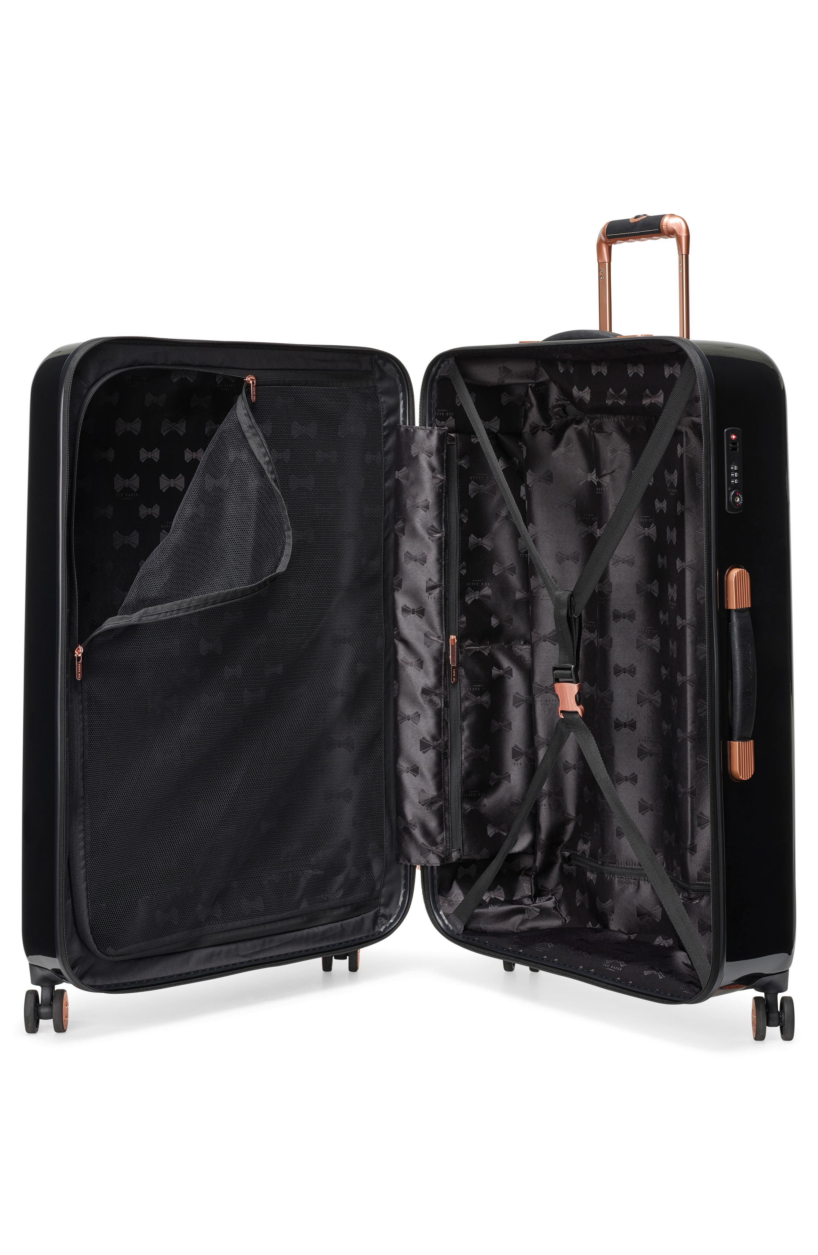 Large Versailles 31-Inch Hard Shell Spinner Suitcase,                             Alternate thumbnail 2, color,                             Black
