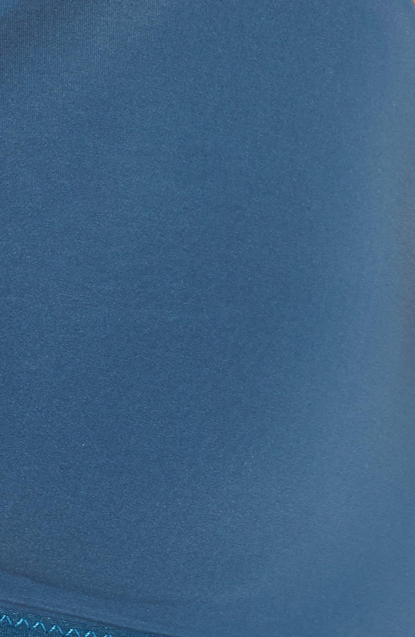 Marta Mesh Trim Wireless T-Shirt Bra,                             Alternate thumbnail 9, color,                             Blue Hematite