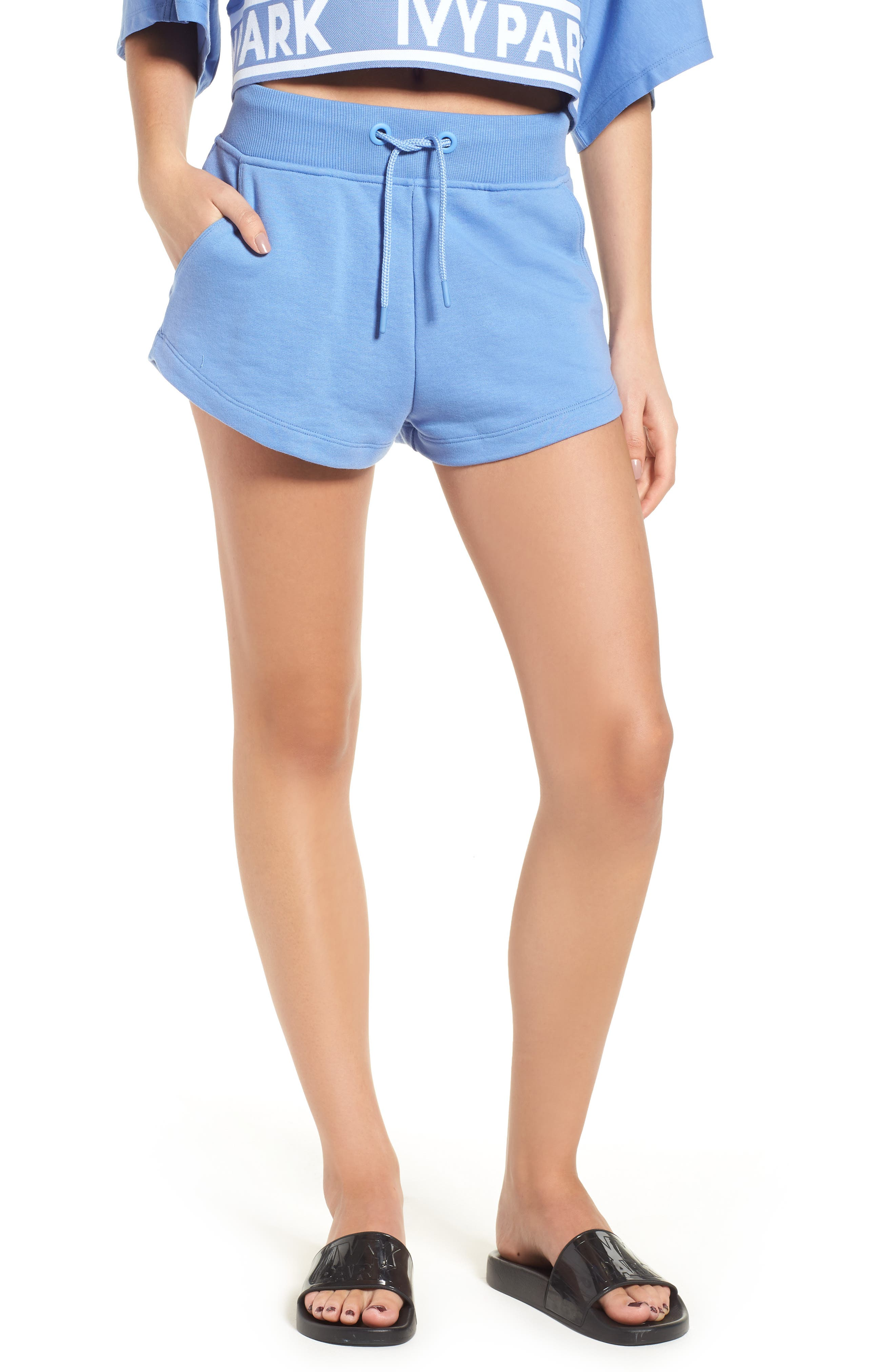 Ivy Park Womens Logo Shorts - With Credit Card Sale Online Largest Supplier Cheap Price Countdown Package Discount Manchester Great Sale a6mxDE