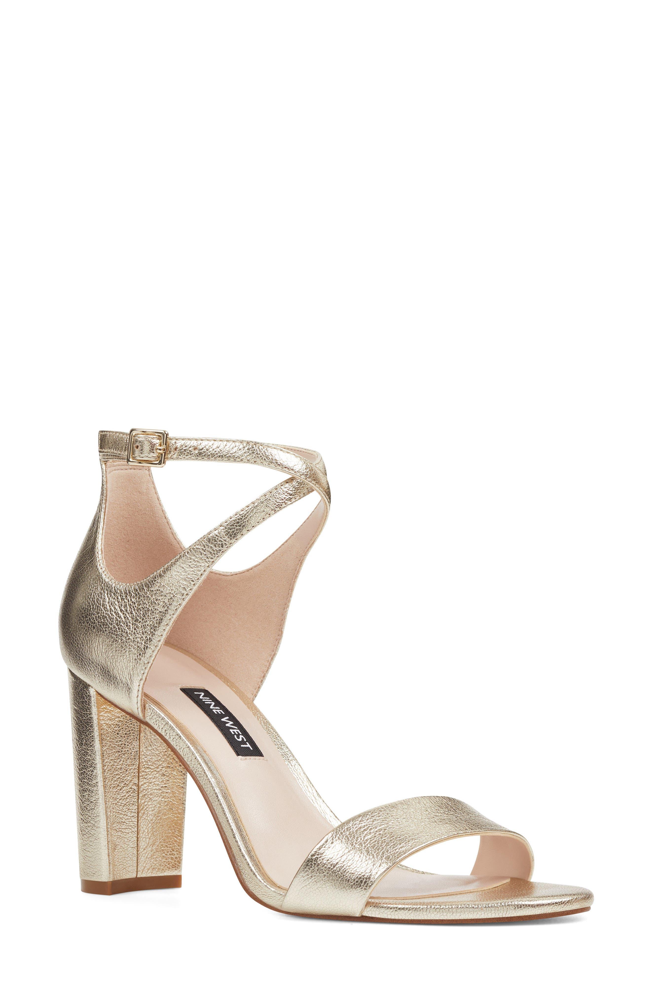Nine West Nunzaya Ankle Strap Sandal (Women)