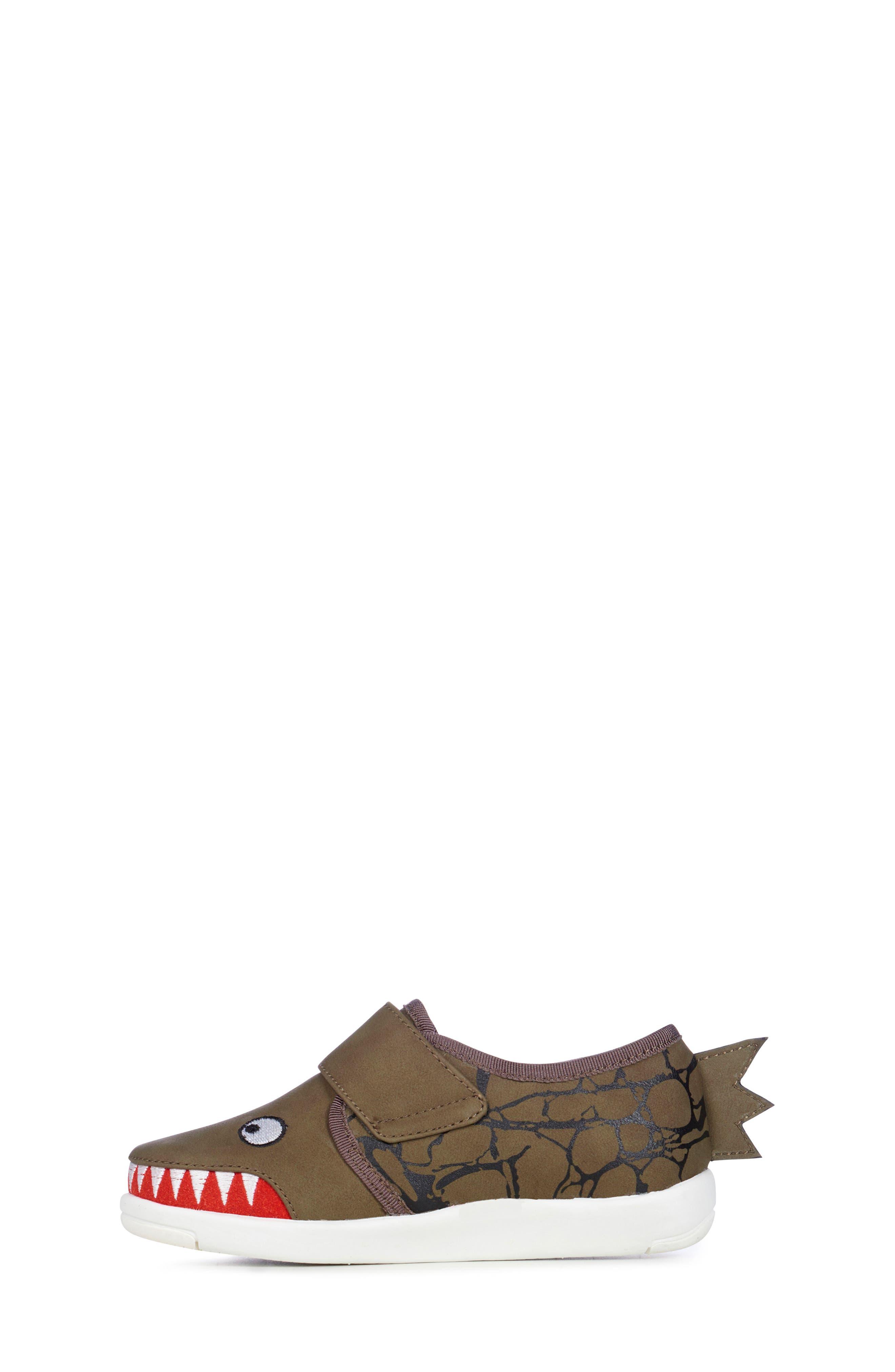 Sneaker,                             Alternate thumbnail 3, color,                             Khaki