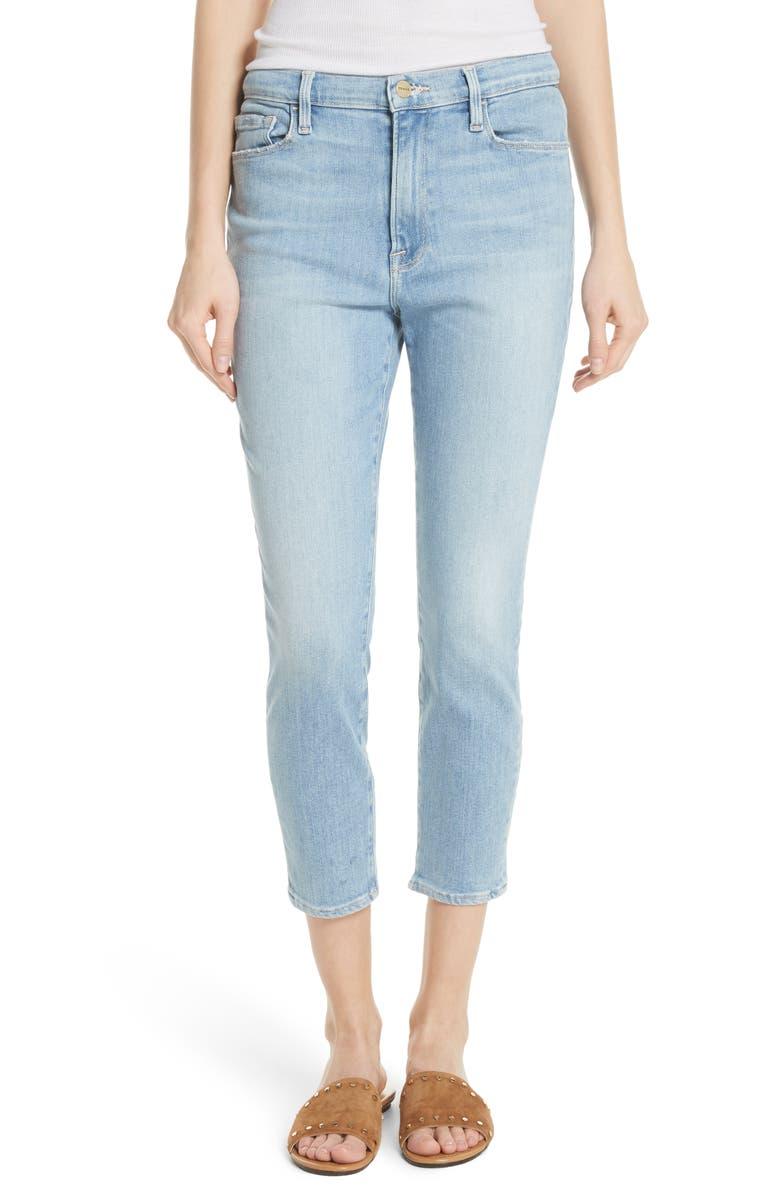 Ali High Waist Cigarette Skinny Jeans