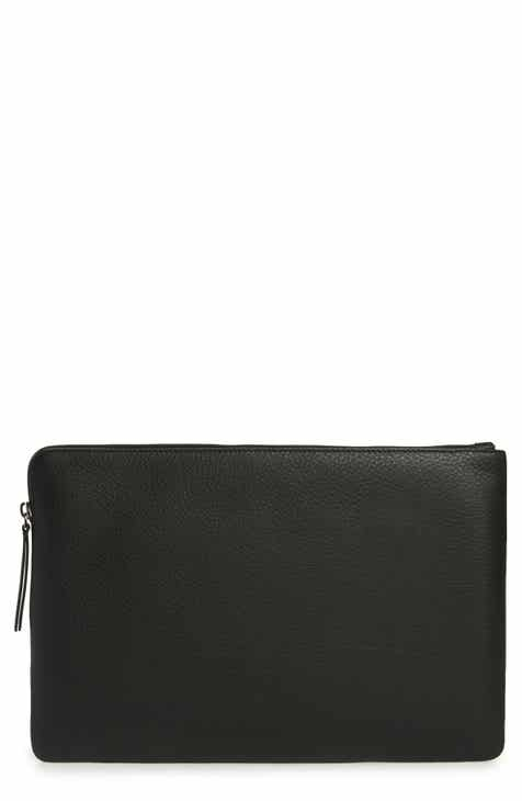 Balencia Large Everyday Leather Pouch