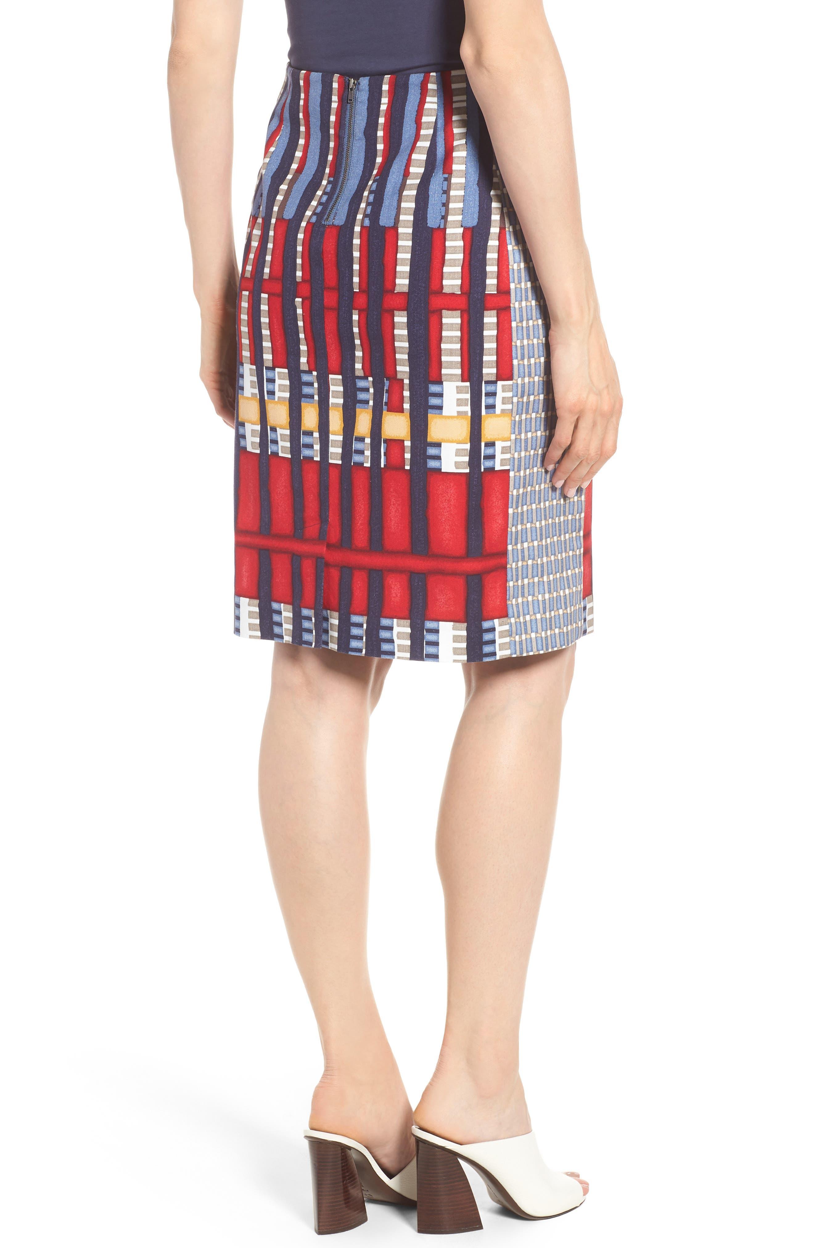 Santiago Hills Block Skirt,                             Alternate thumbnail 2, color,                             Multi