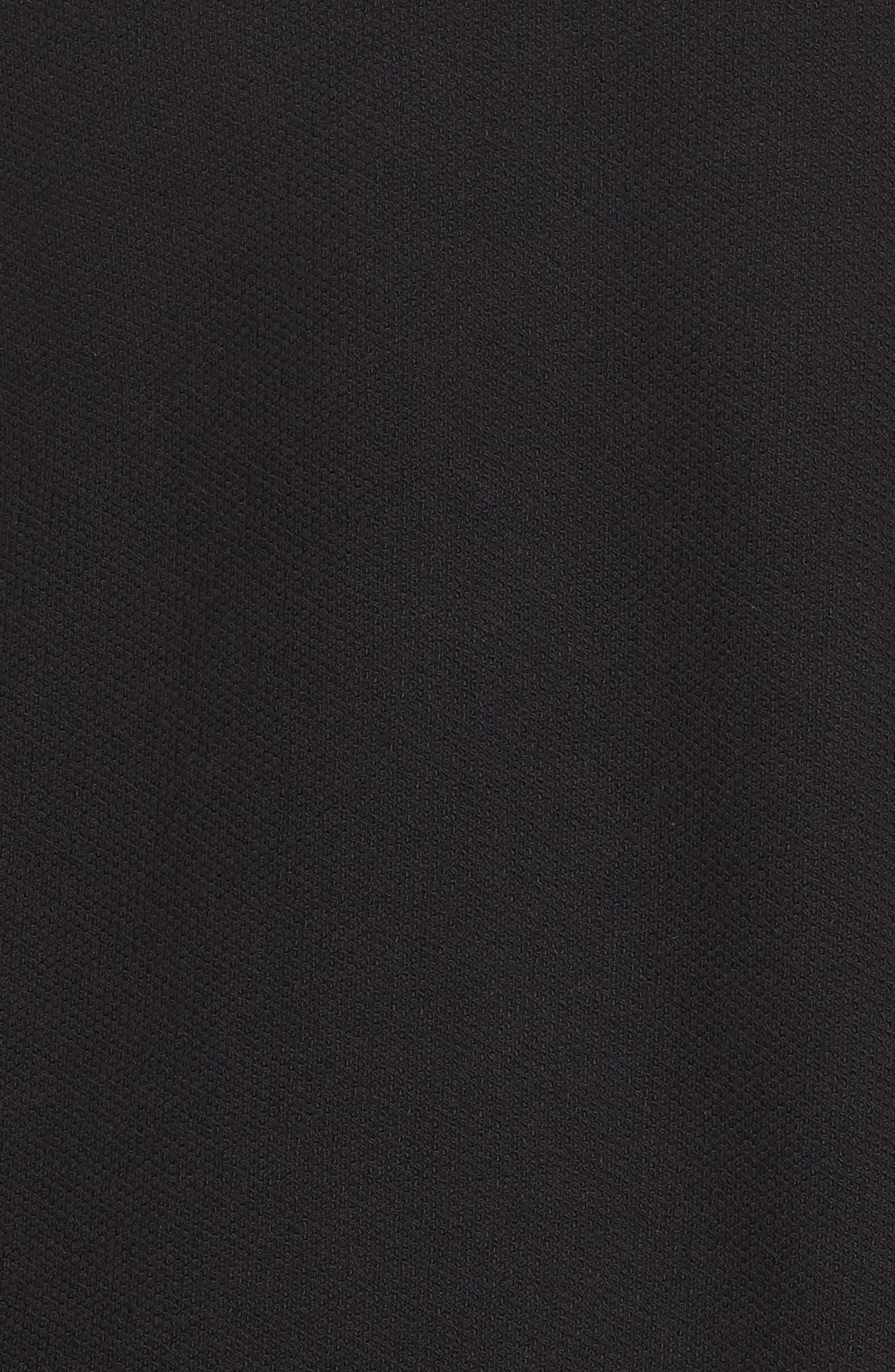 Sweatshirt,                             Alternate thumbnail 6, color,                             Black/ Core Red