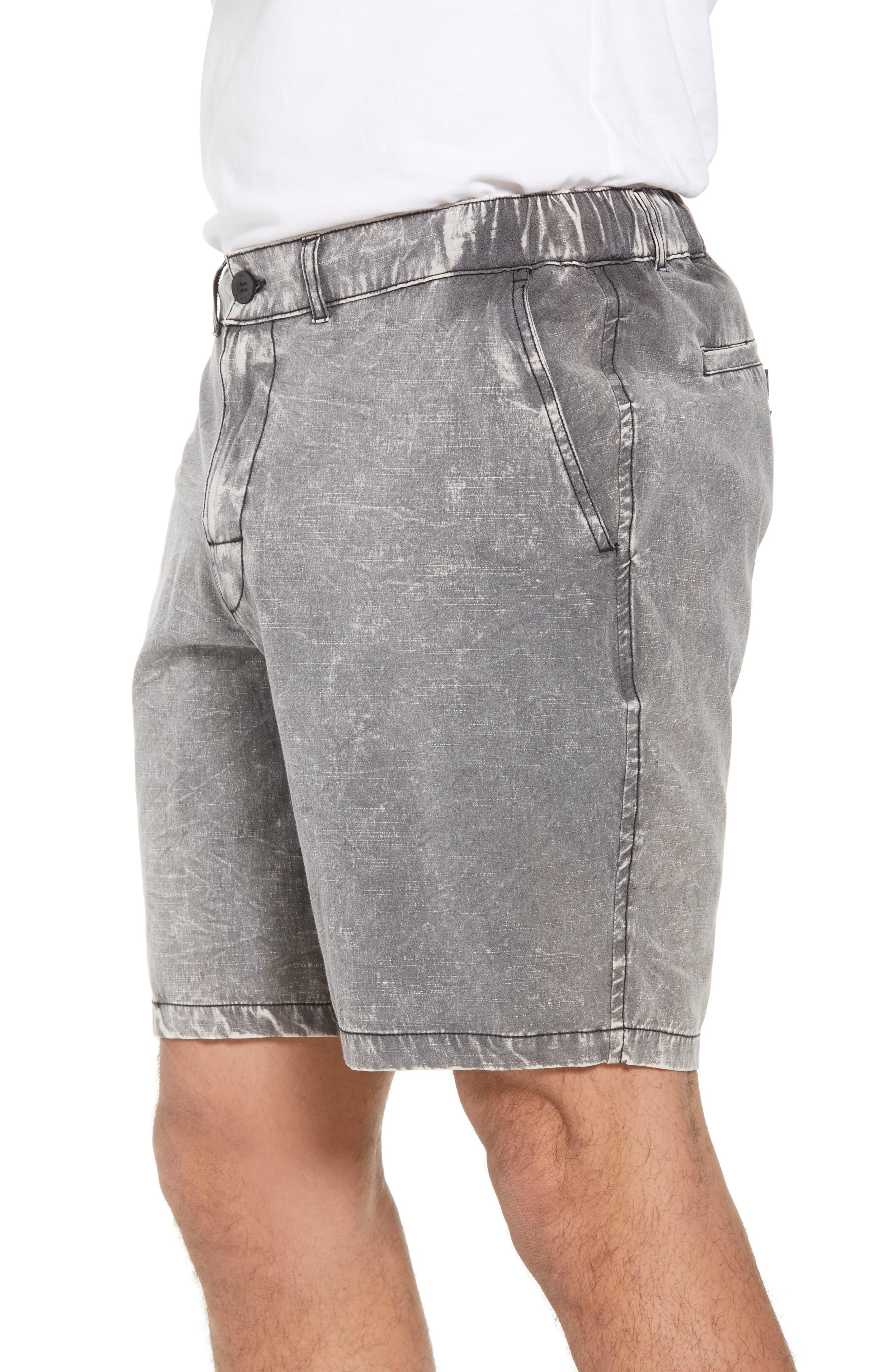 All Time Coastal Hybrid Shorts,                             Alternate thumbnail 6, color,                             Black