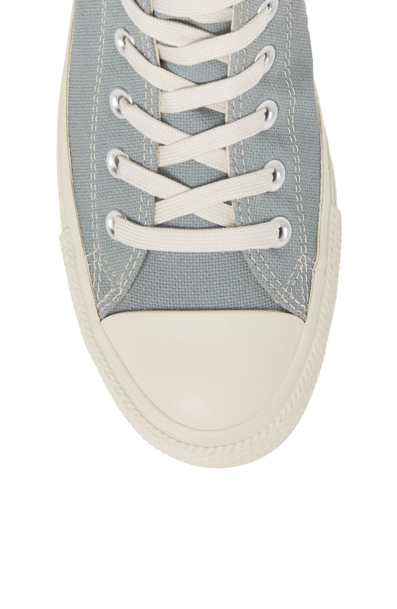 Chuck Taylor<sup>®</sup> All Star<sup>®</sup> Jute Americana High Top Sneaker,                             Alternate thumbnail 5, color,                             Cool Grey