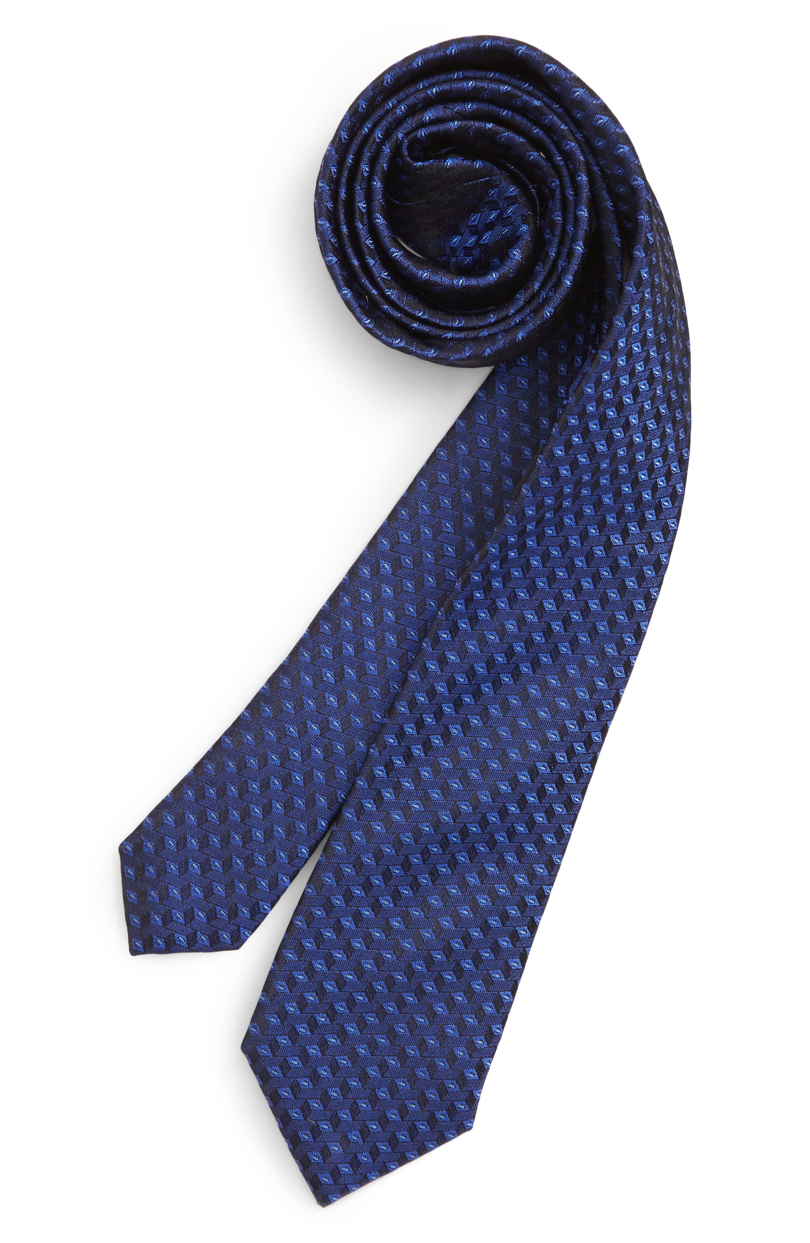Nordstrom Puzzle Blocks Silk Tie (Big Boys)