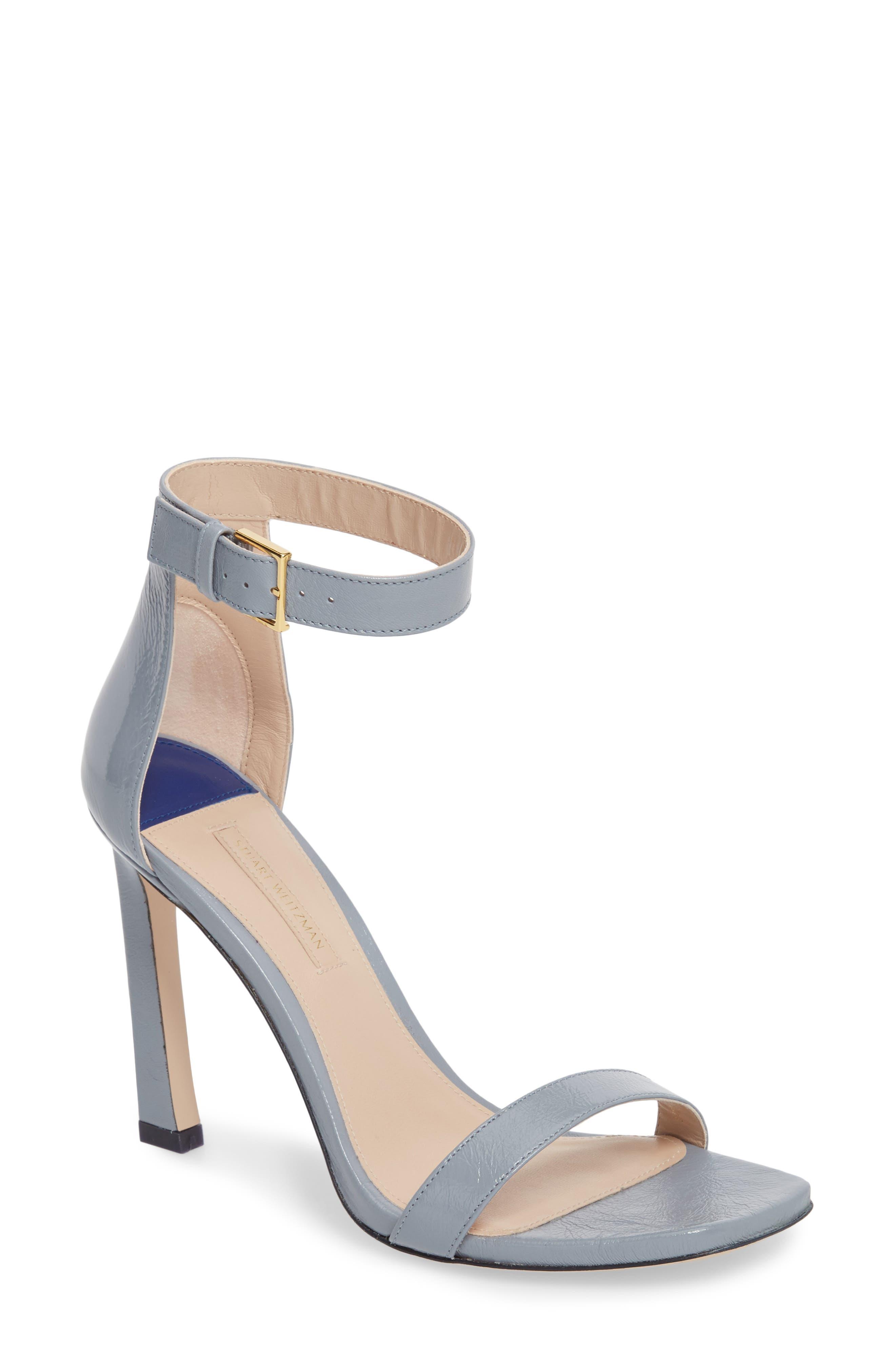 Alternate Image 1 Selected - Stuart Weitzman 100SQUARENUDIST Sandal (Women)