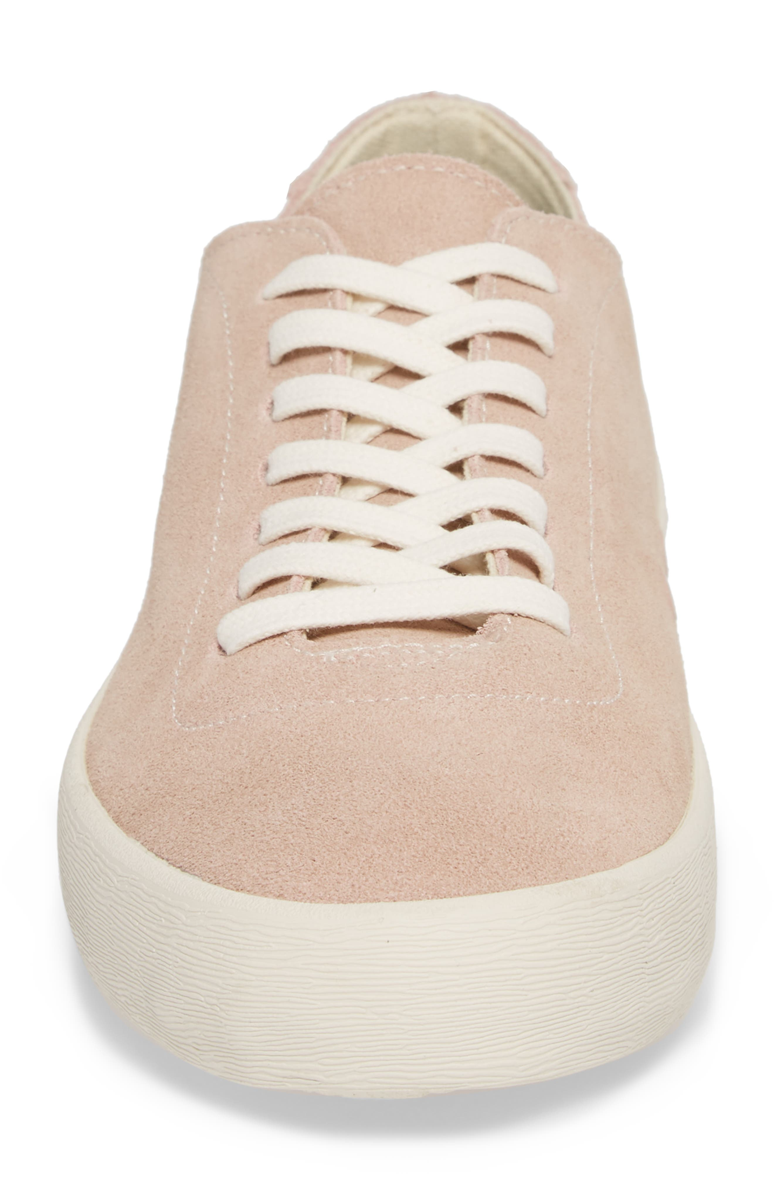 Racquet Club Sneaker,                             Alternate thumbnail 4, color,                             Rose Pink