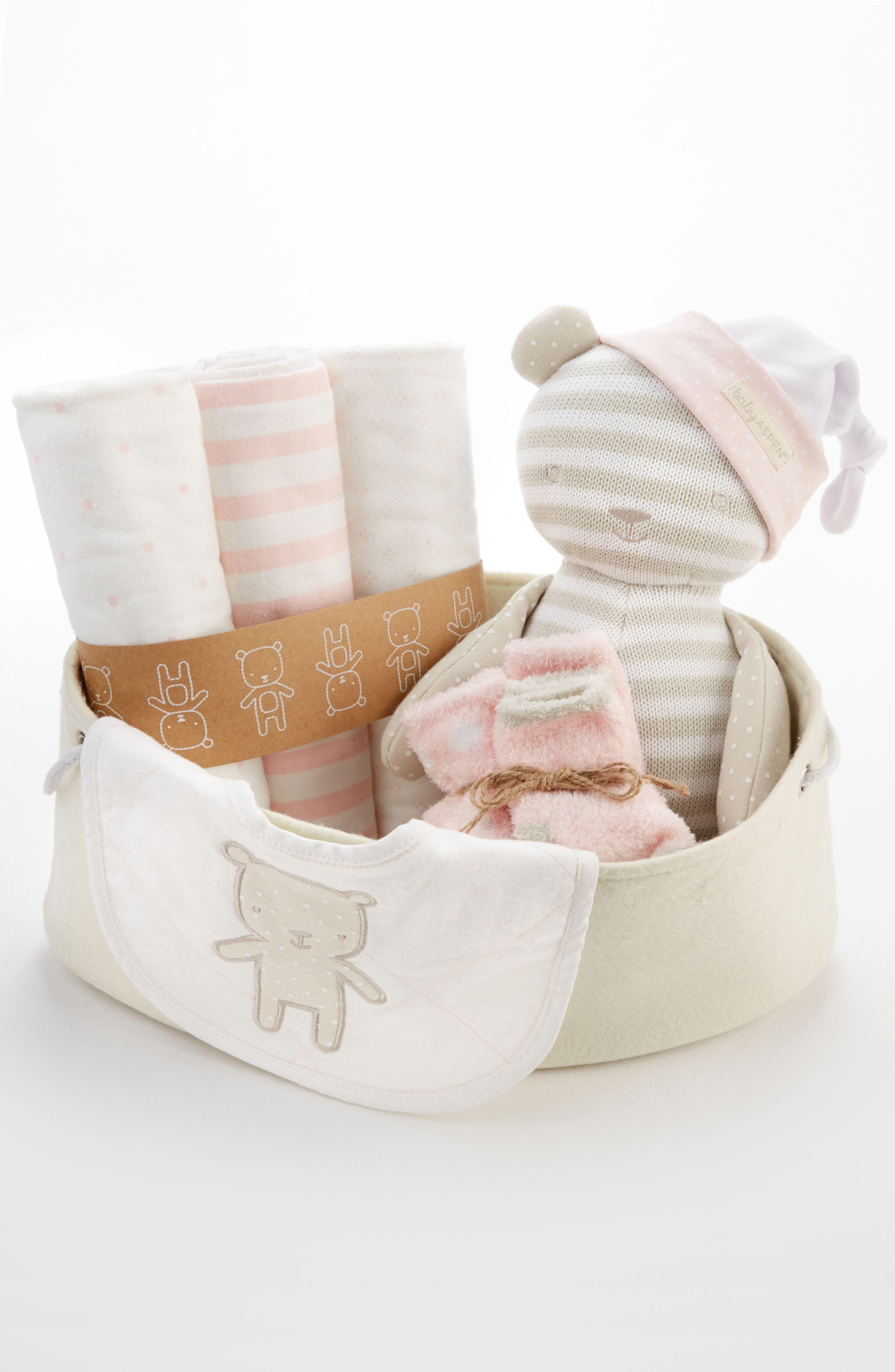 Beary Special 10-Piece Gift Set,                             Alternate thumbnail 4, color,                             Pink