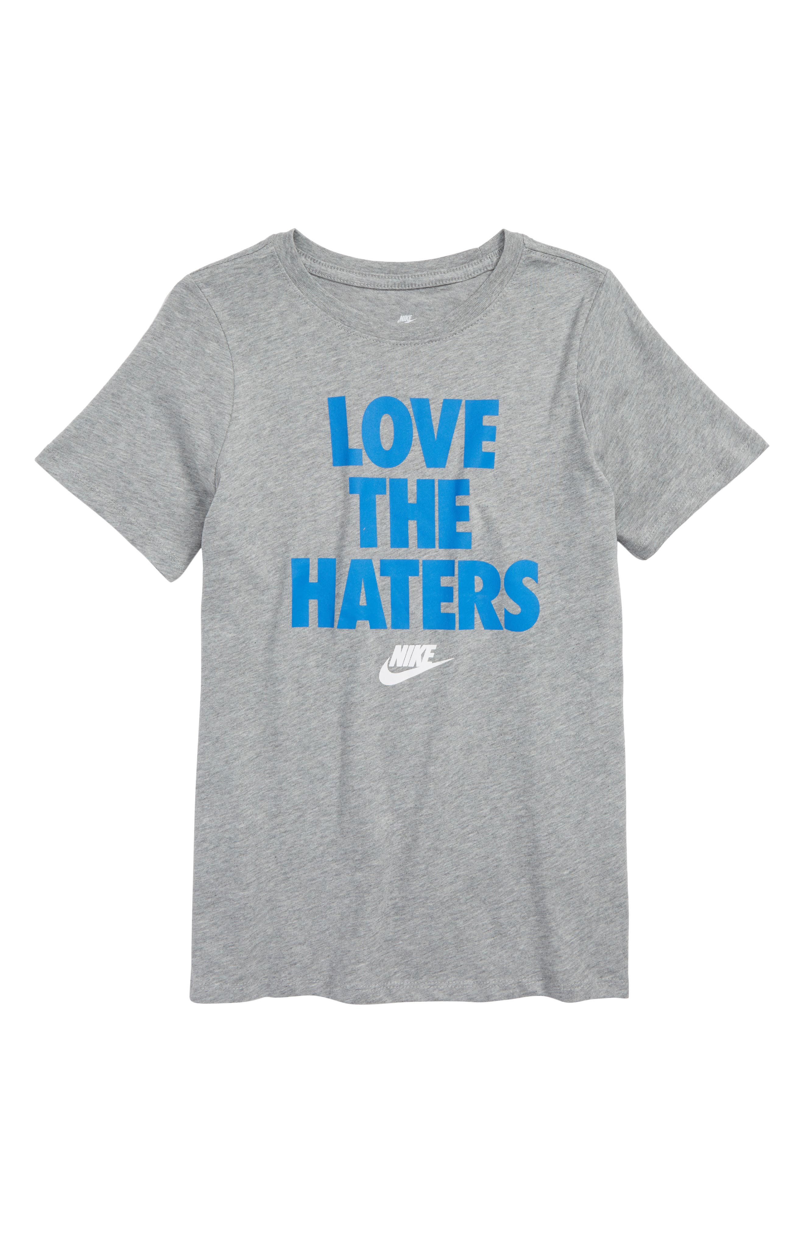 Nike Sportswear Love the Haters Graphic T-Shirt (Little Boys & Big Boys)