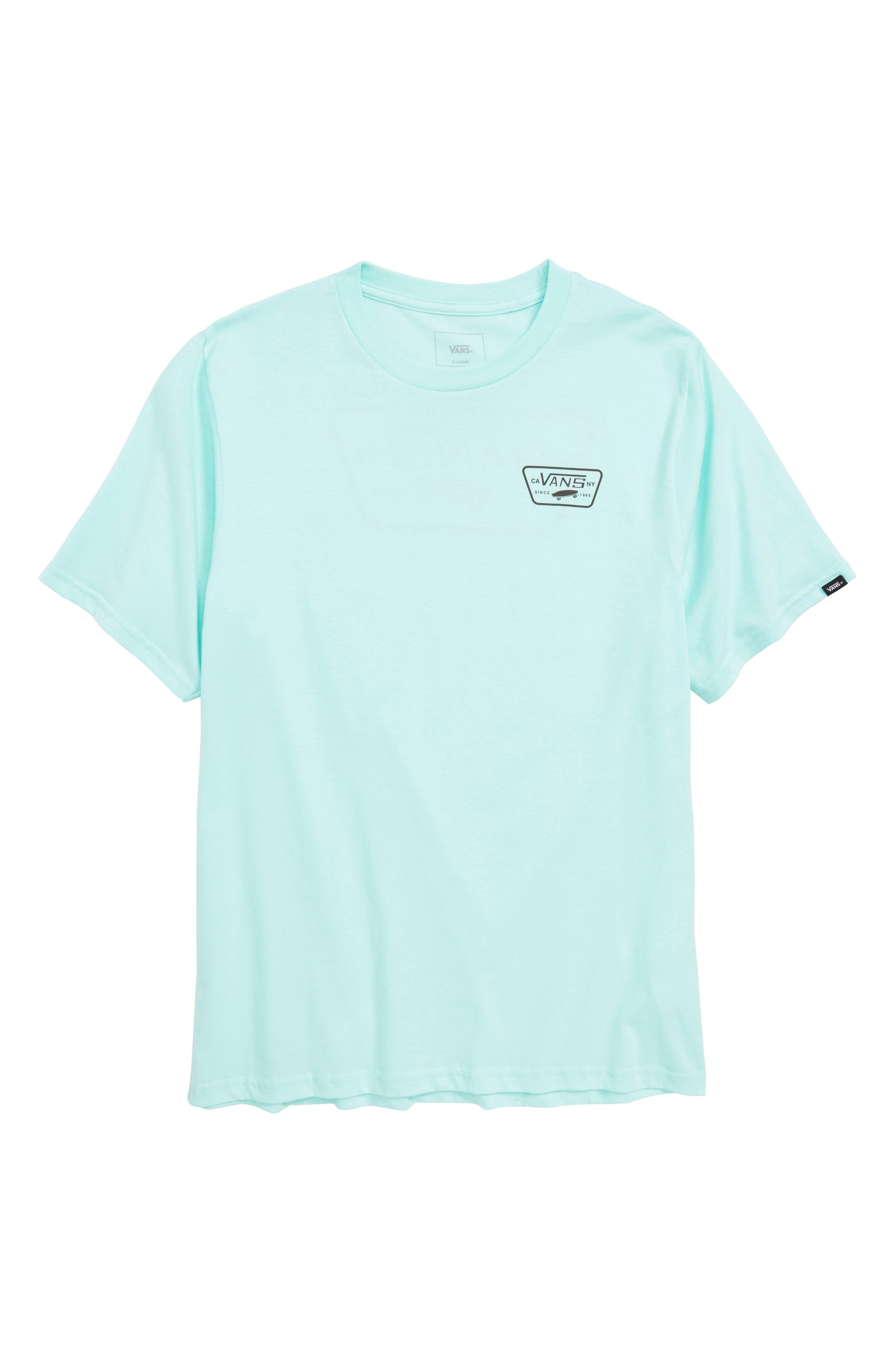 Logo Graphic T-Shirt,                             Main thumbnail 1, color,                             Mint