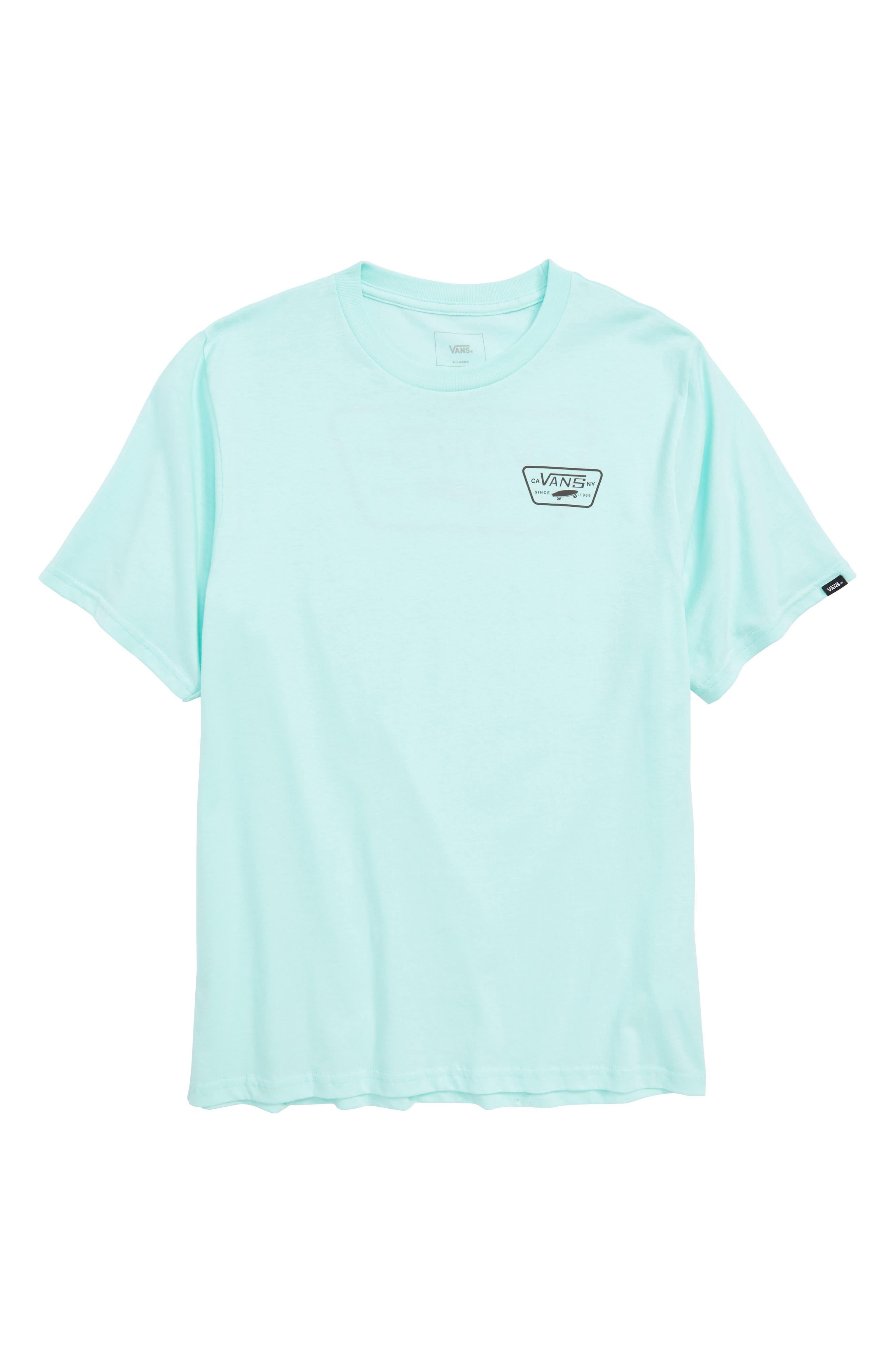 Vans Logo Graphic T-Shirt (Big Boys)