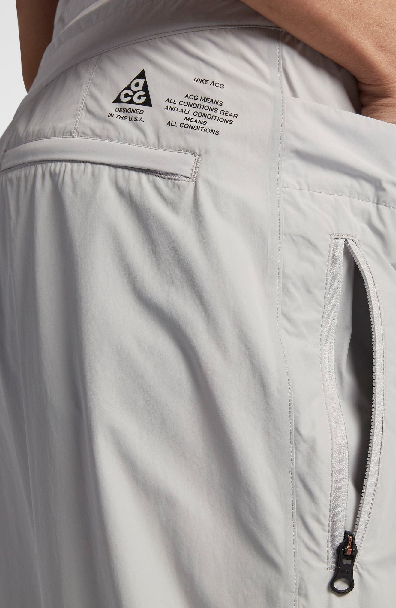 NikeLab ACG Women's Cargo Pants,                             Alternate thumbnail 7, color,                             Vast Grey