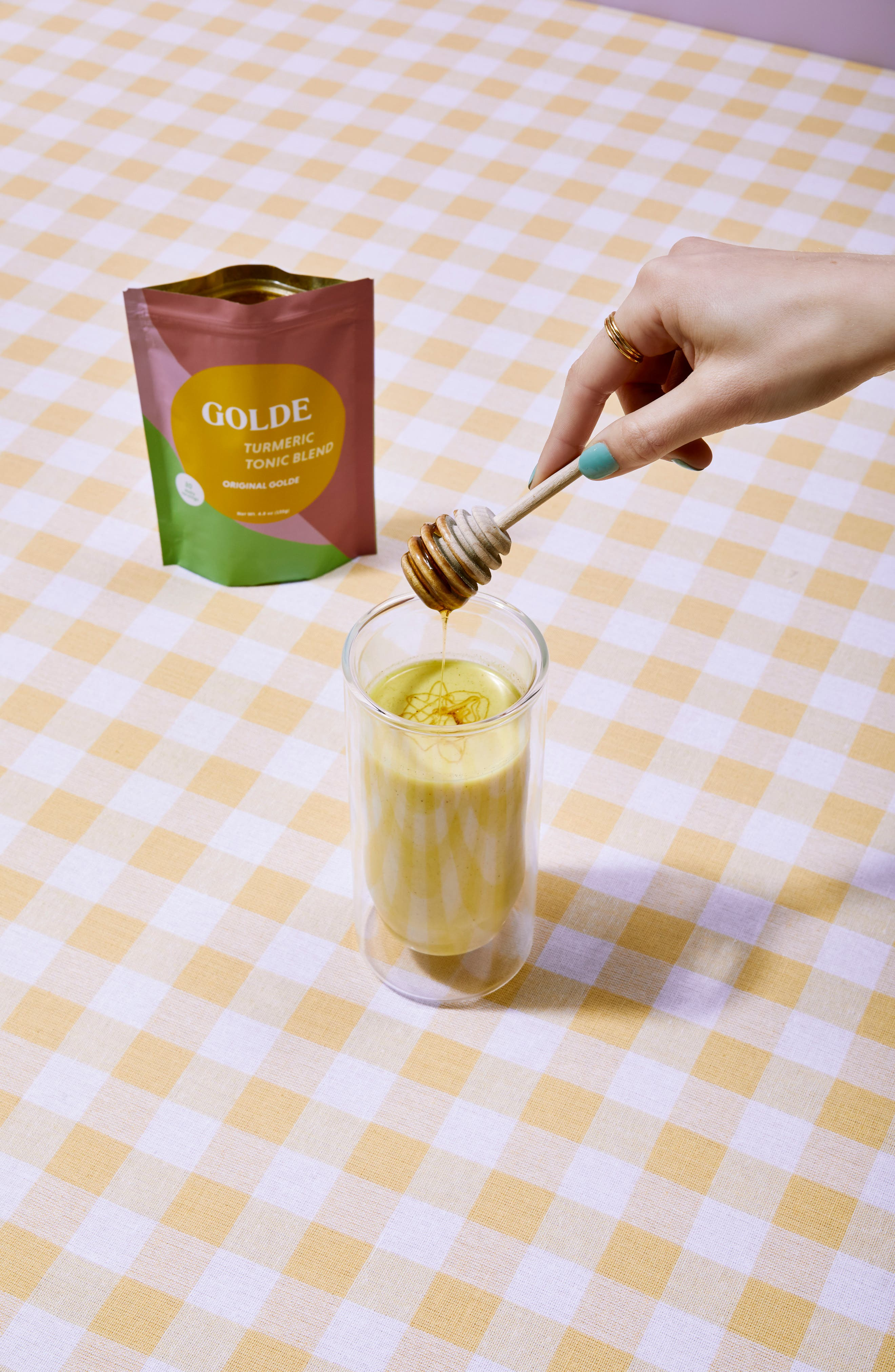 Golde Original Golde Turmeric Tonic Blend,                             Alternate thumbnail 3, color,                             None