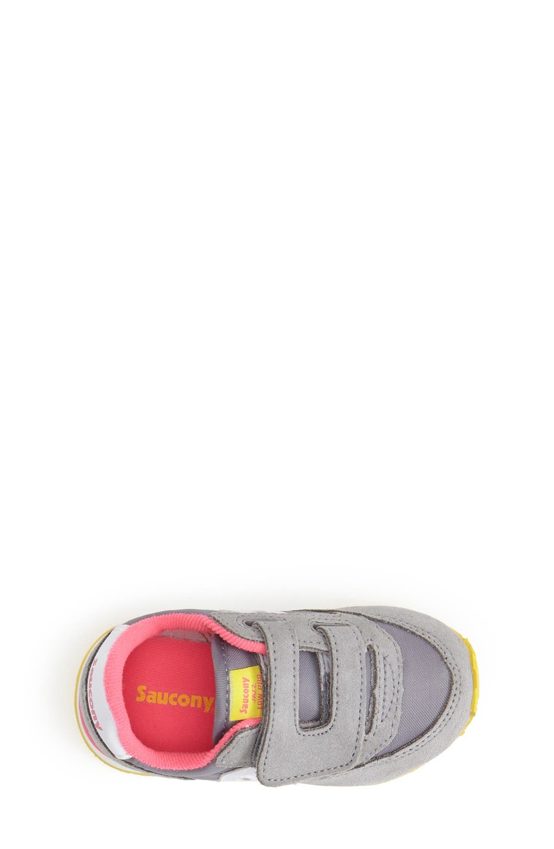 Alternate Image 3  - Saucony 'Jazz' Hook & Loop Sneaker (Baby, Walker & Toddler)