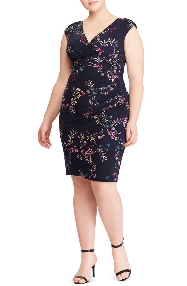 Adara Floral Jersey Dress