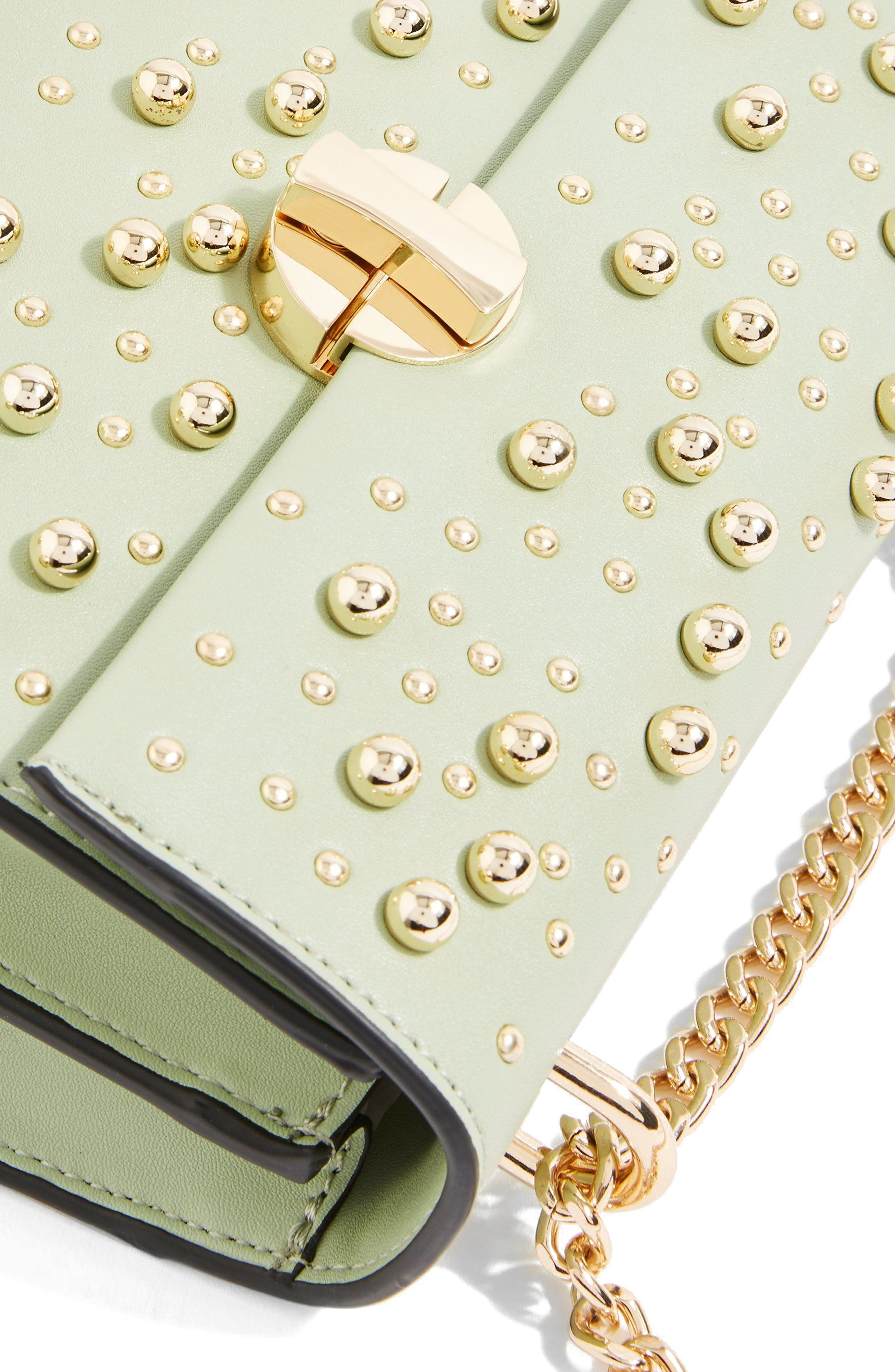 Betty Ball Crossbody Bag,                             Alternate thumbnail 3, color,                             Green