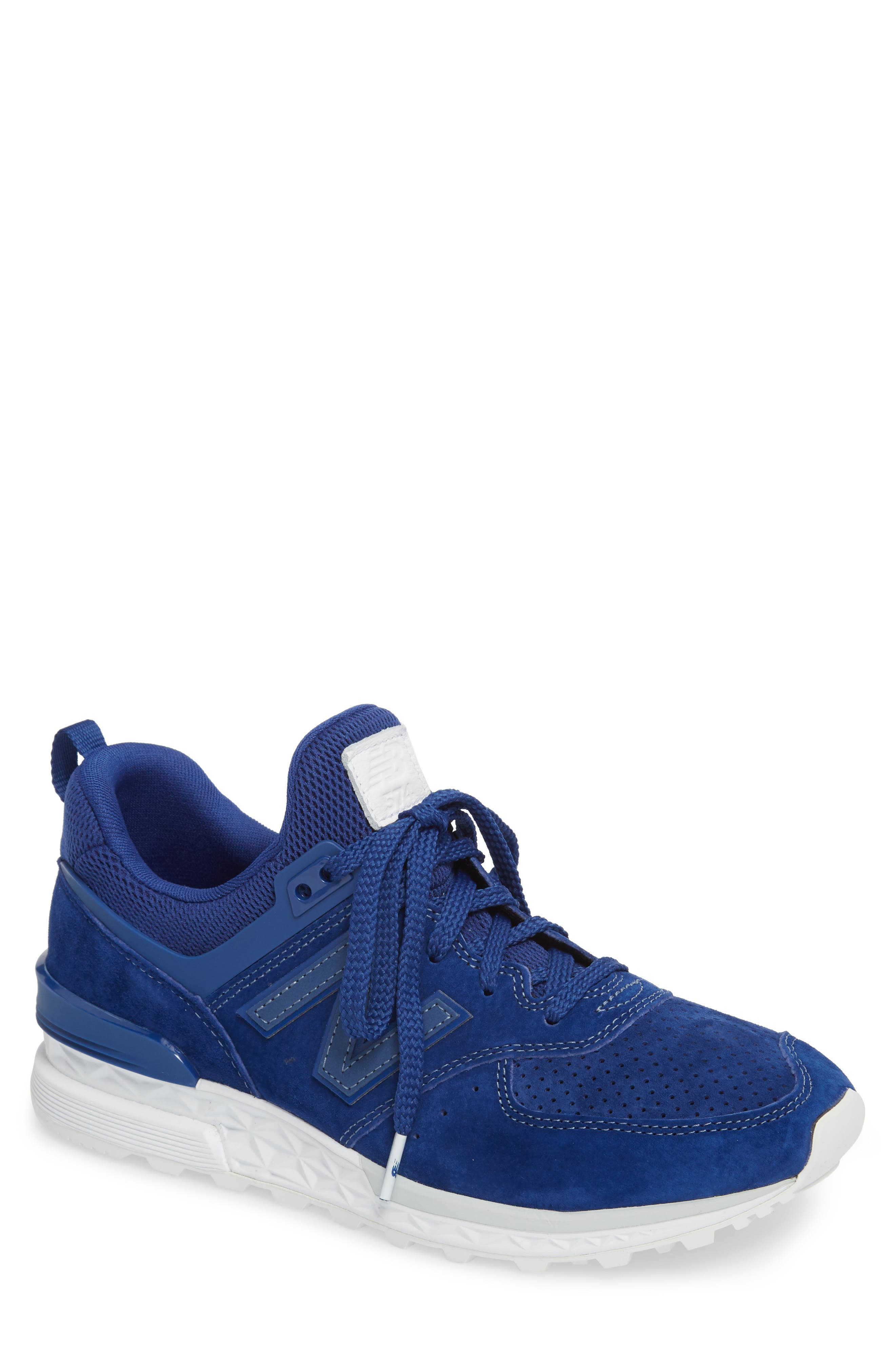 574 Sport Sneaker,                             Main thumbnail 1, color,                             Atlantic