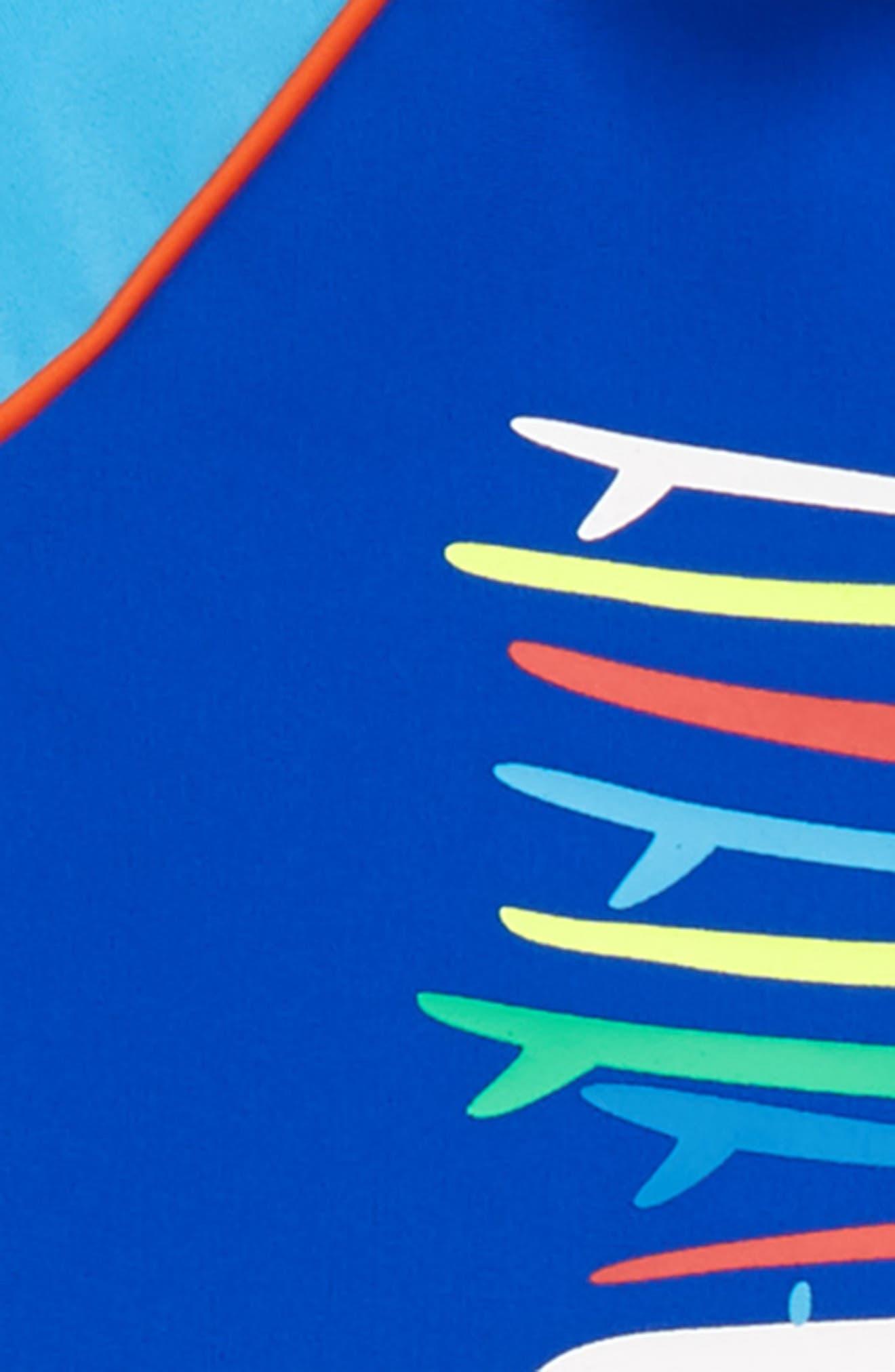 Two-Piece Van Surf Swimsuit,                             Alternate thumbnail 2, color,                             Surfboard Blue Surf Van