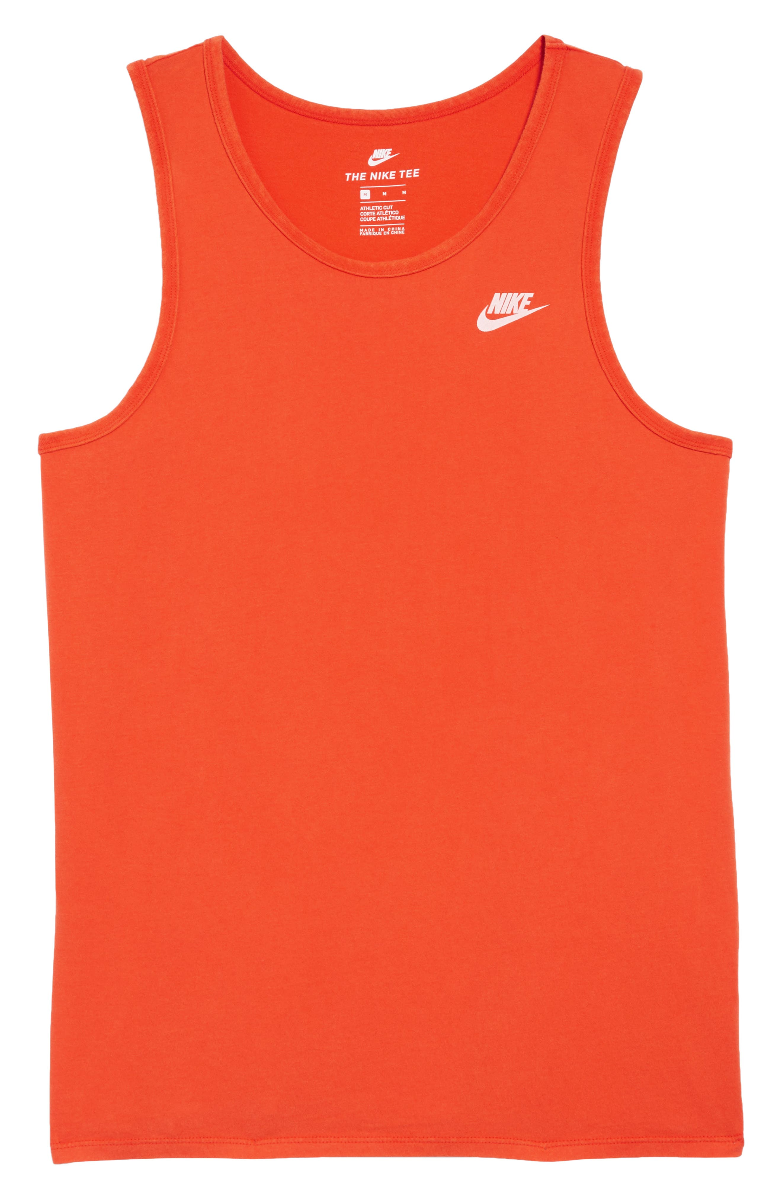 NSW Wash Pack Tank,                             Alternate thumbnail 6, color,                             Habanero Red/ White/ White