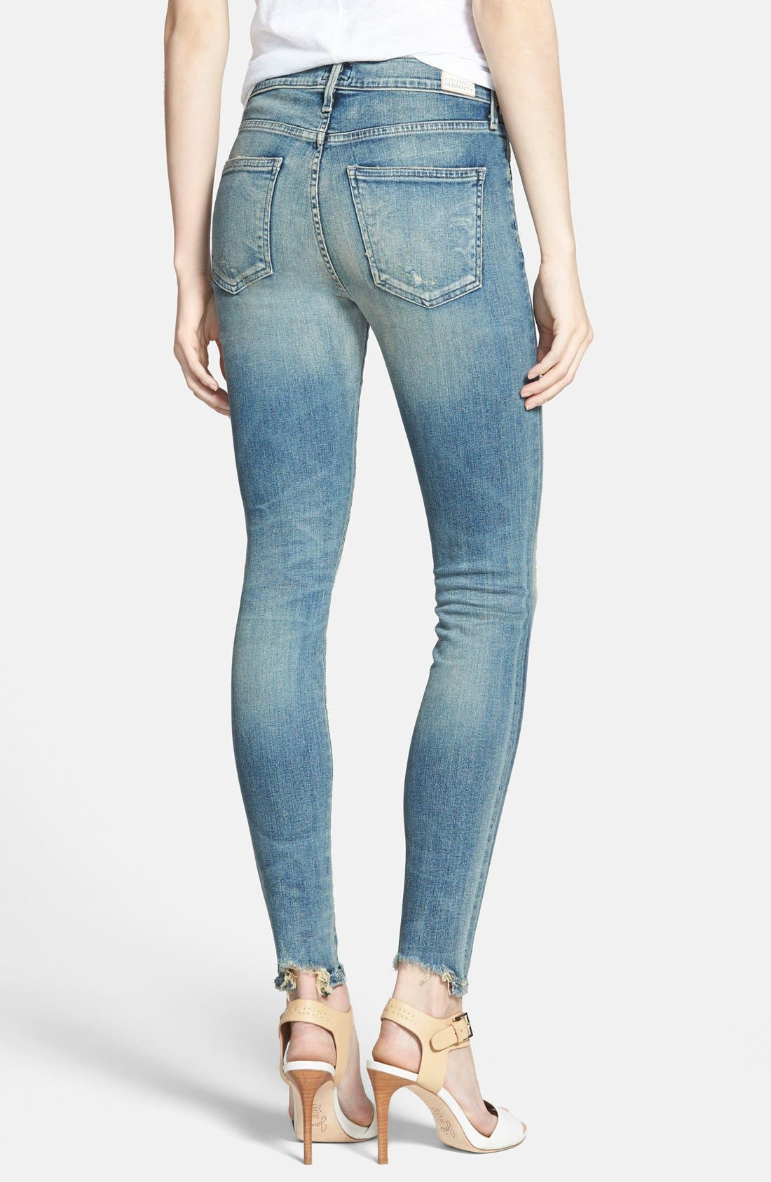 Alternate Image 2  - Citizens of Humanity 'Rocket' High Rise Skinny Jeans (Stage Coach)