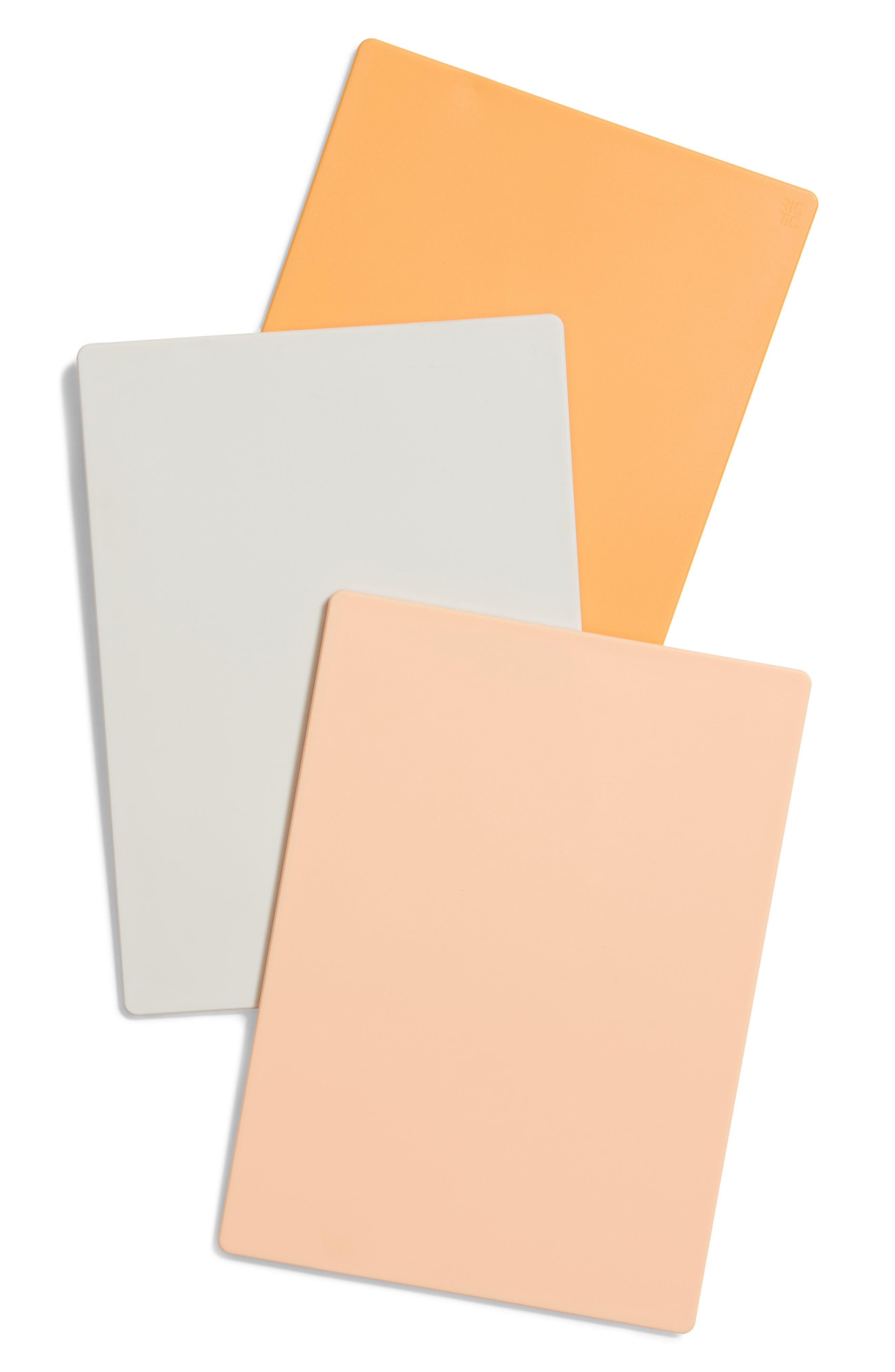Rig-Tig Chop-It Set of 3 Cutting Boards,                             Alternate thumbnail 2, color,                             Apricot