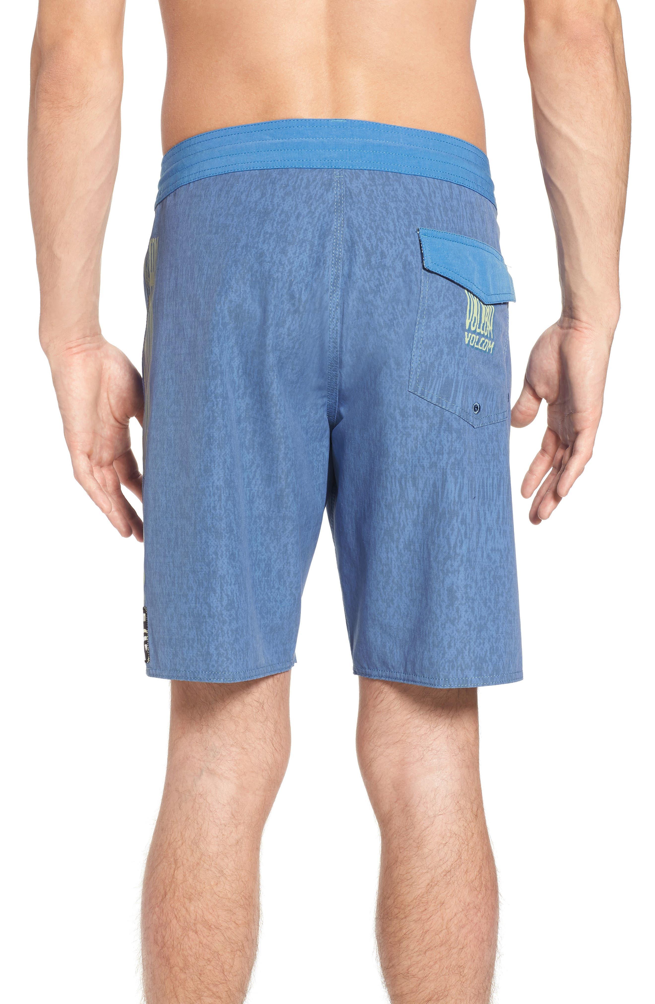Side Fi Stoney Board Shorts,                             Alternate thumbnail 2, color,                             Blue Free