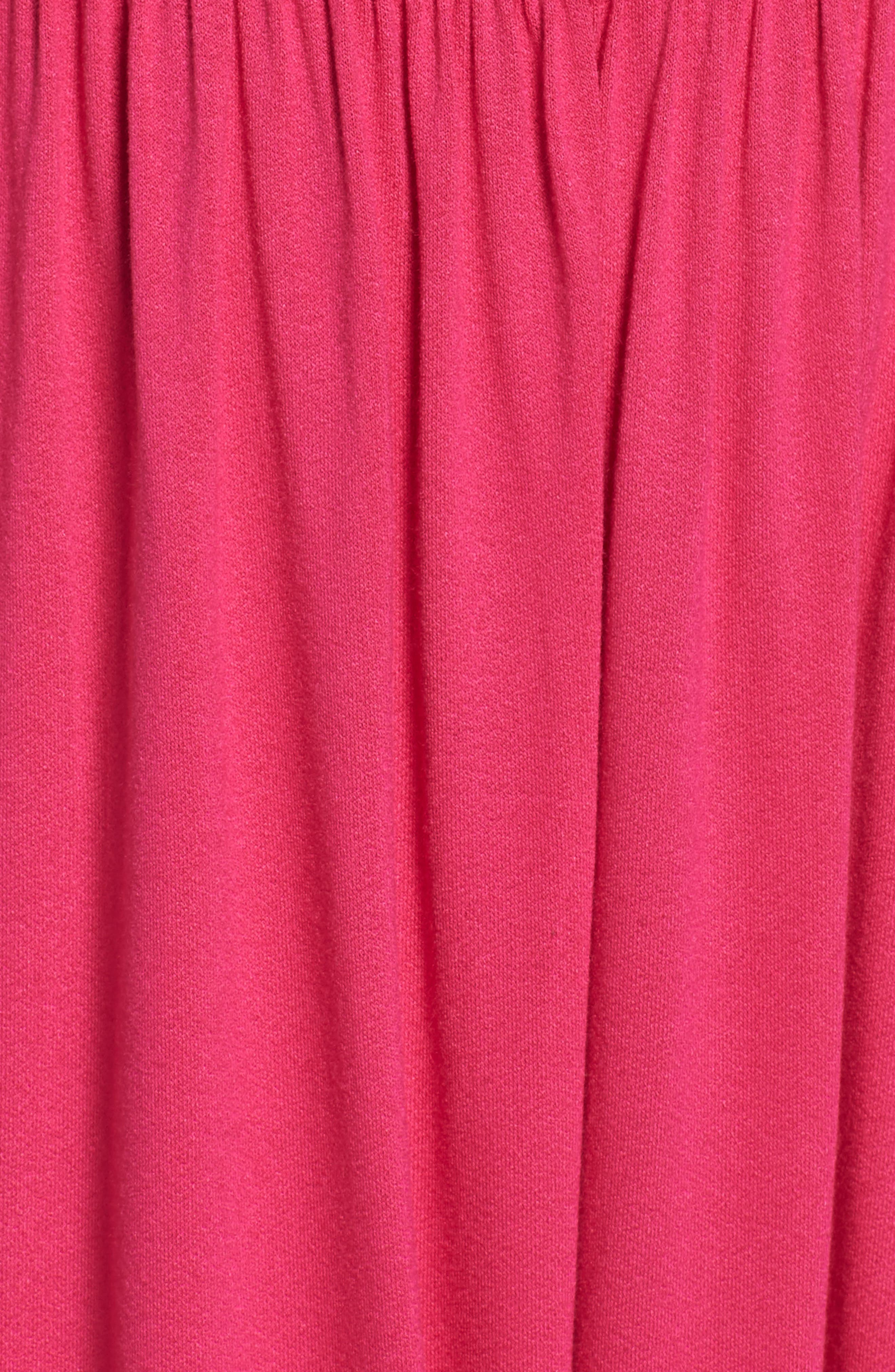 Strappy Back Maxi Dress,                             Alternate thumbnail 5, color,                             Wild Pink