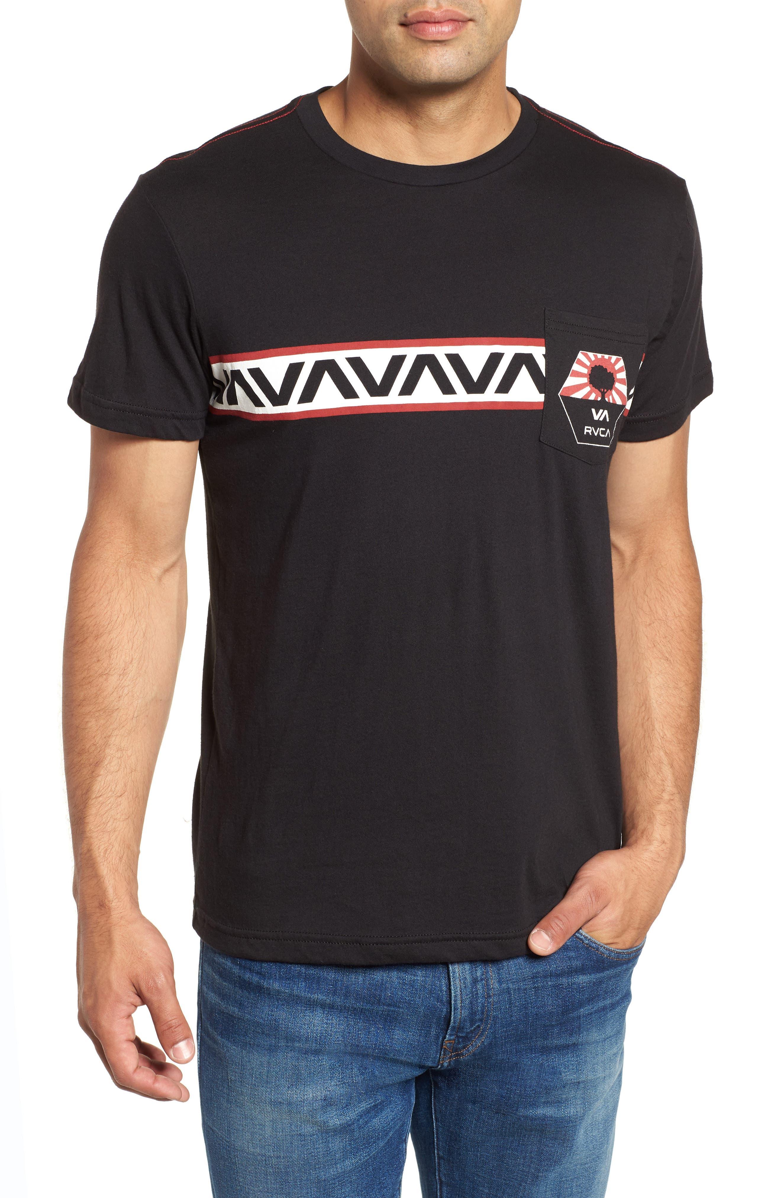 Bruce Pocket T-Shirt,                         Main,                         color, Black