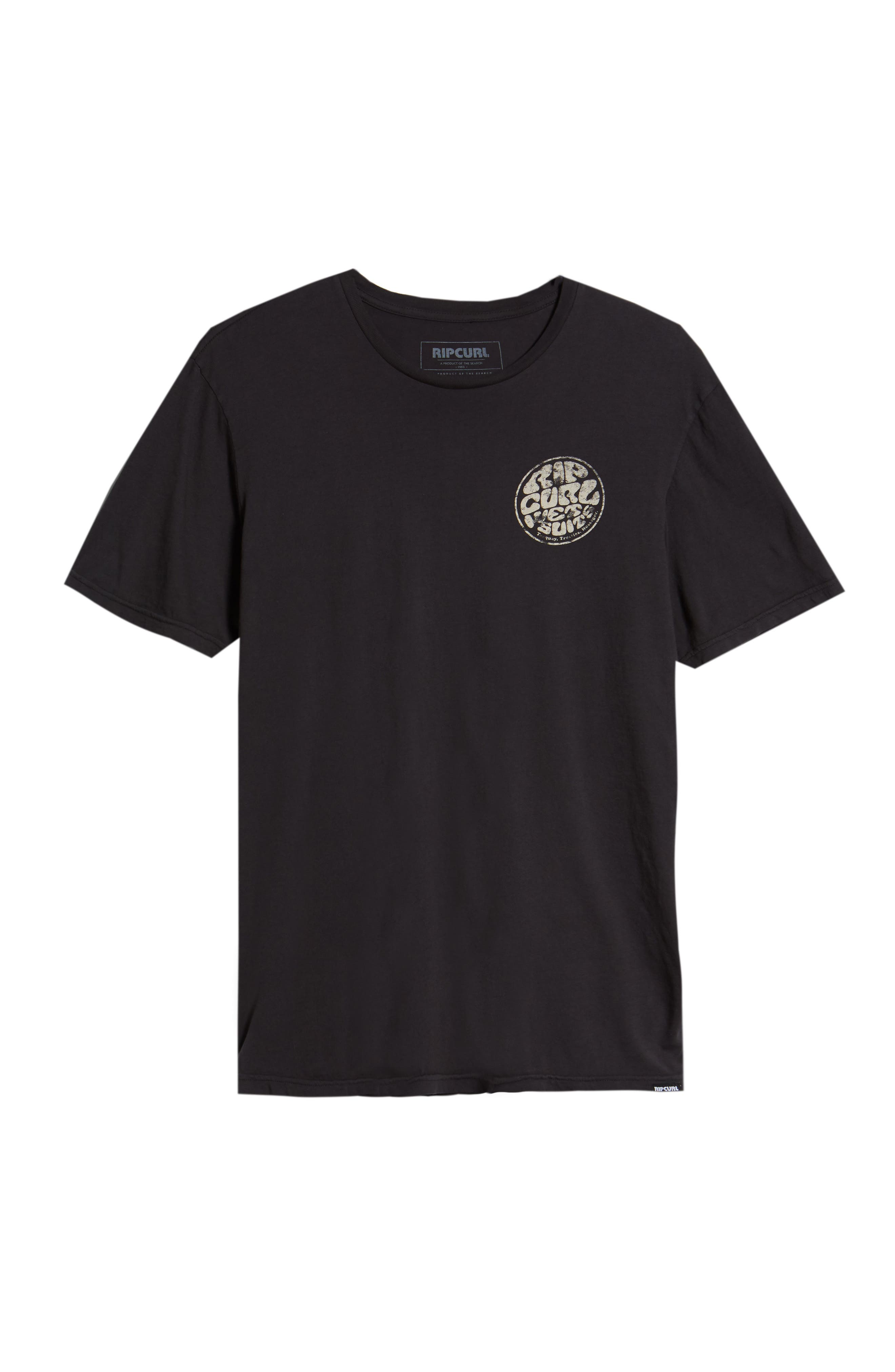 Vintage Wettie Heritage T-Shirt,                             Alternate thumbnail 6, color,                             Charcoal