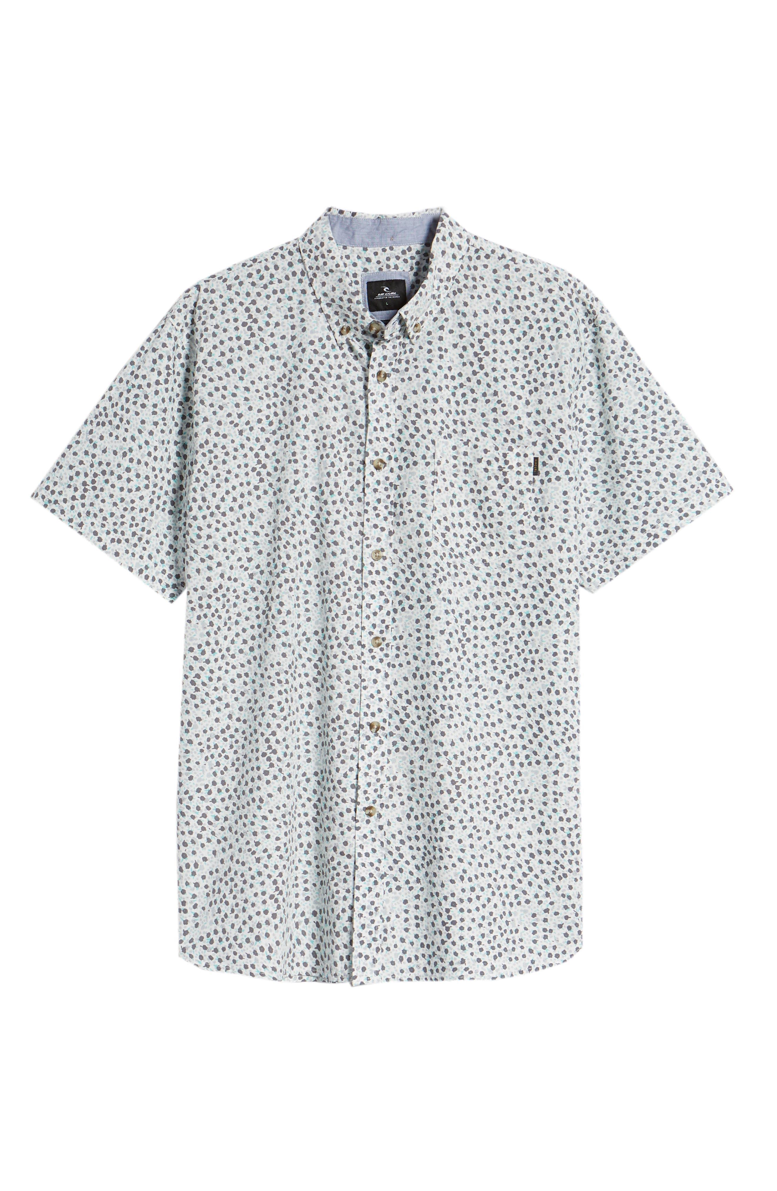 El Mirador Woven Shirt,                             Alternate thumbnail 6, color,                             Off White