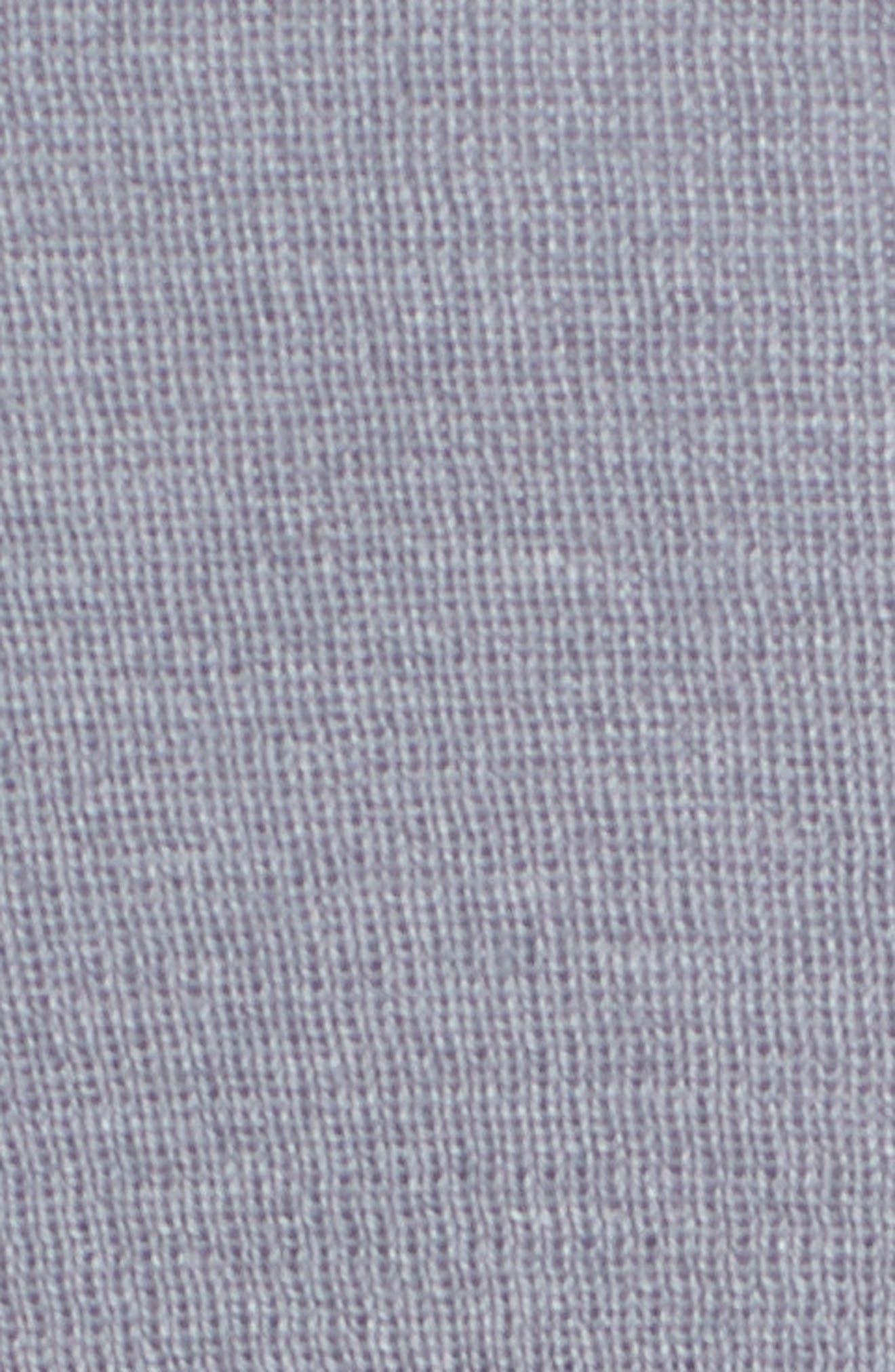 Drape Front Cardigan,                             Alternate thumbnail 5, color,                             Moonlight
