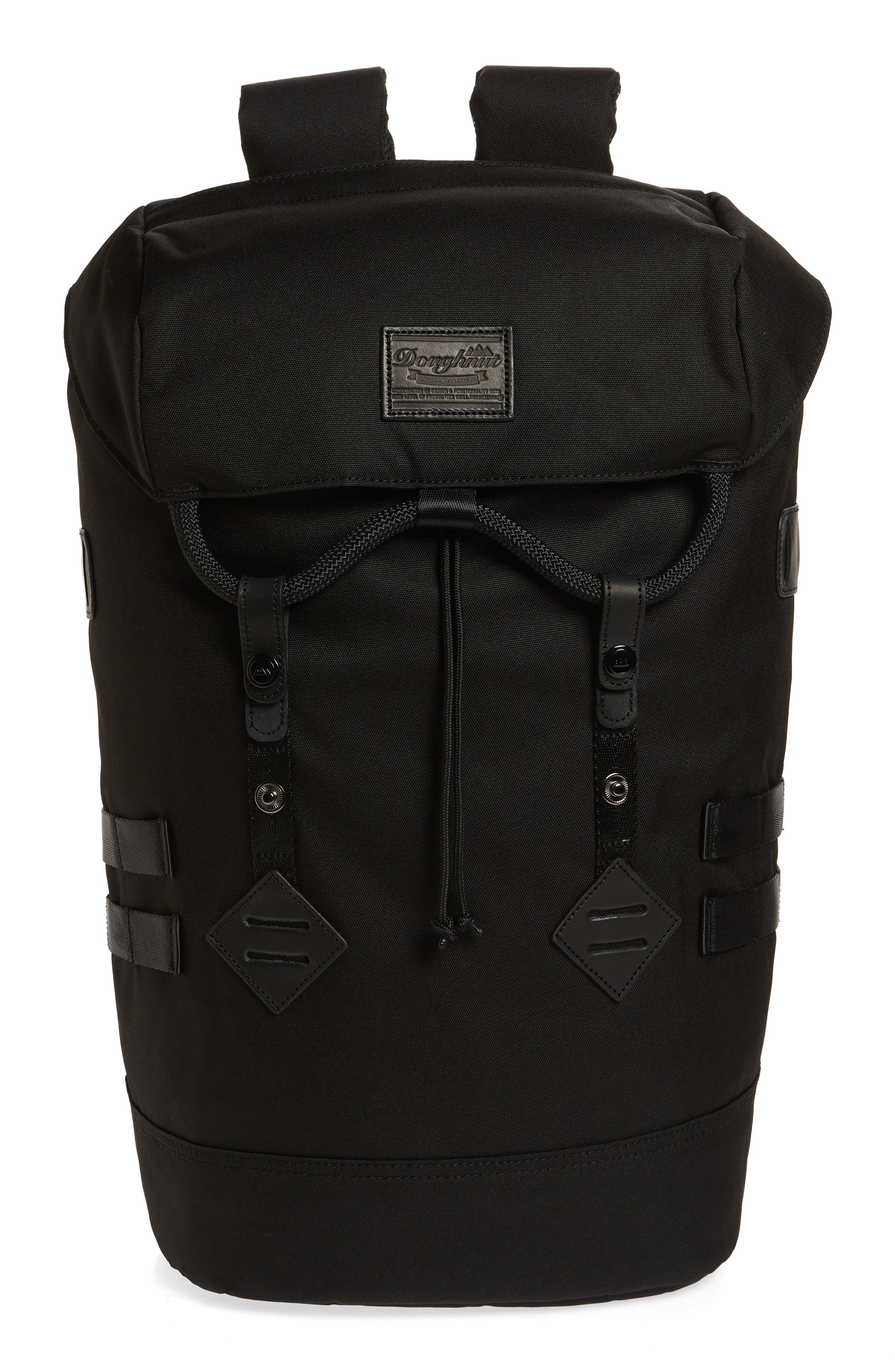 Colorado Black Series Water Repellent Backpack,                         Main,                         color, Black