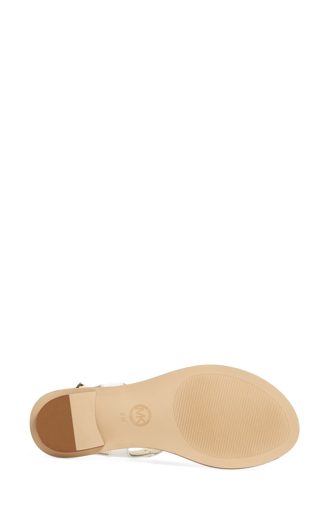 Alternate Image 4  - MICHAEL Michael Kors 'Plate' Thong Sandal