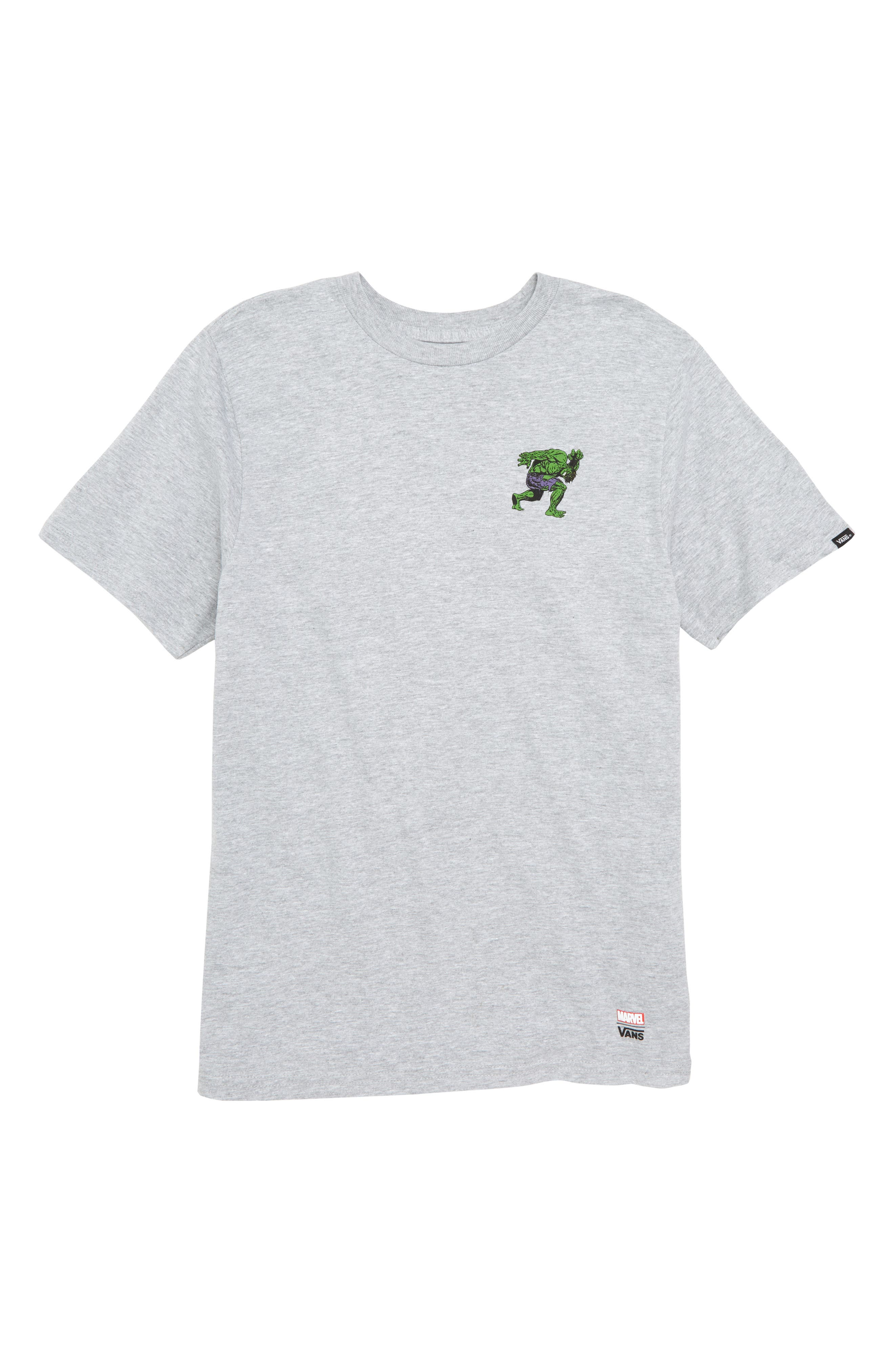 x Marvel<sup>®</sup> Avengers Hulk Graphic T-Shirt,                             Main thumbnail 1, color,                             Athletic Heather