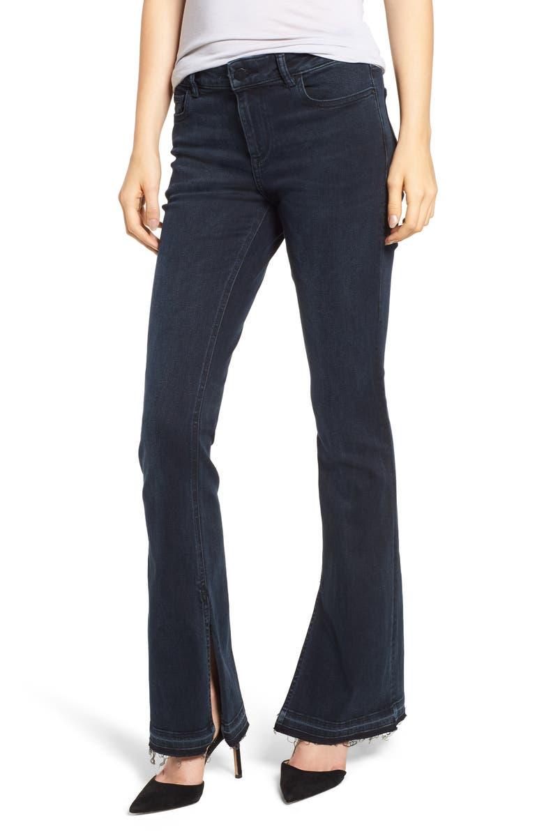 Bridget Instasculpt Split Hem Bootcut Jeans