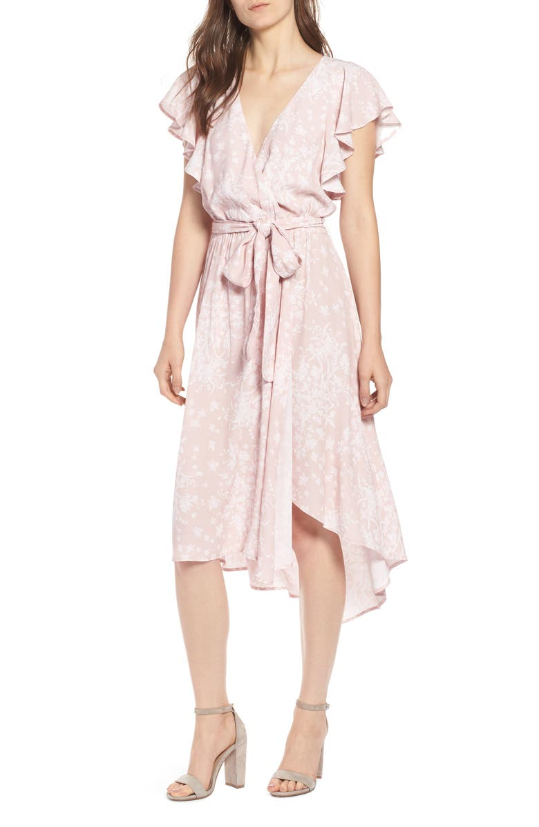 Bassinger Faux Wrap Dress