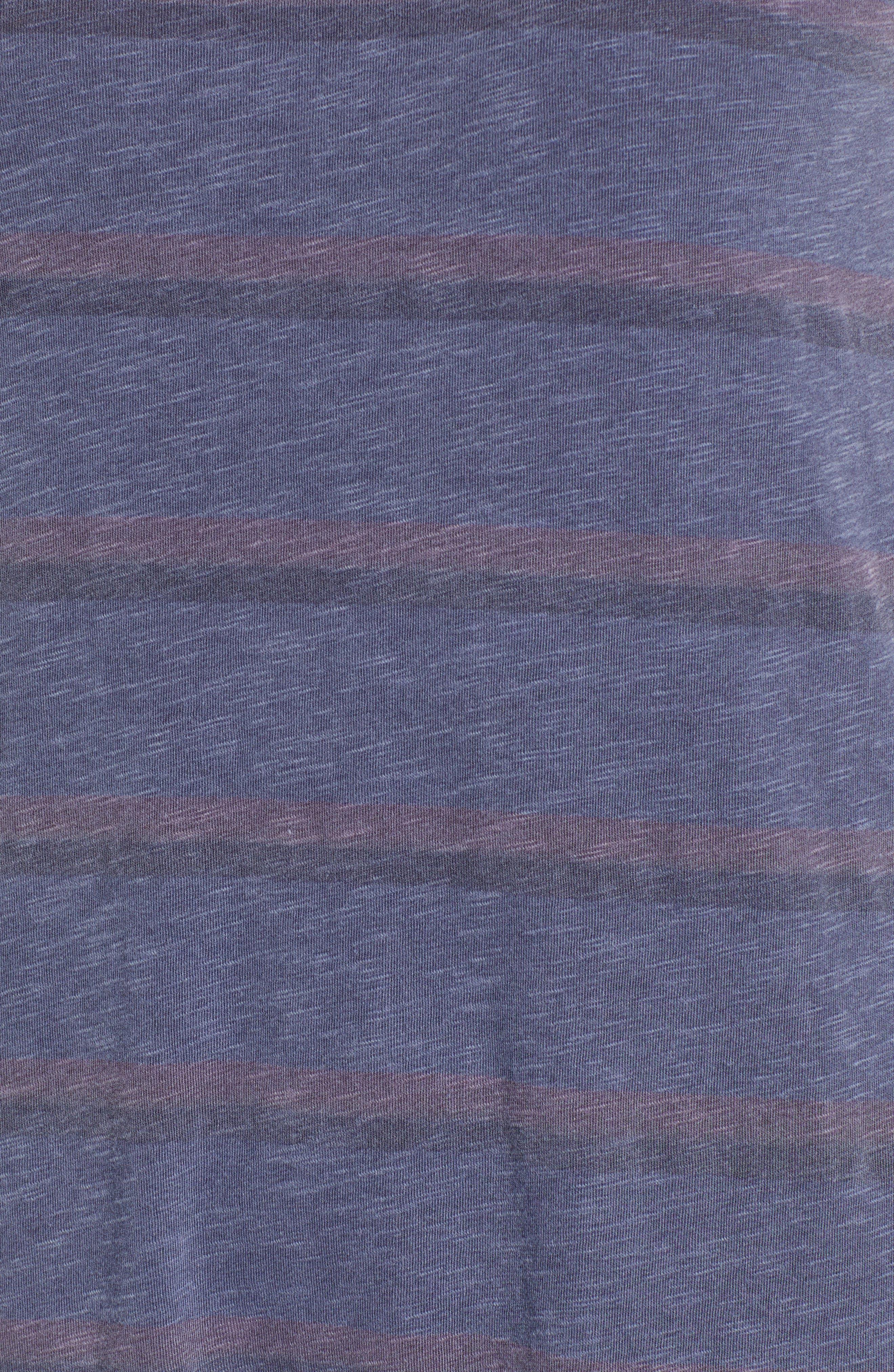 Ruffle Tank Dress,                             Alternate thumbnail 6, color,                             Pigment Navy